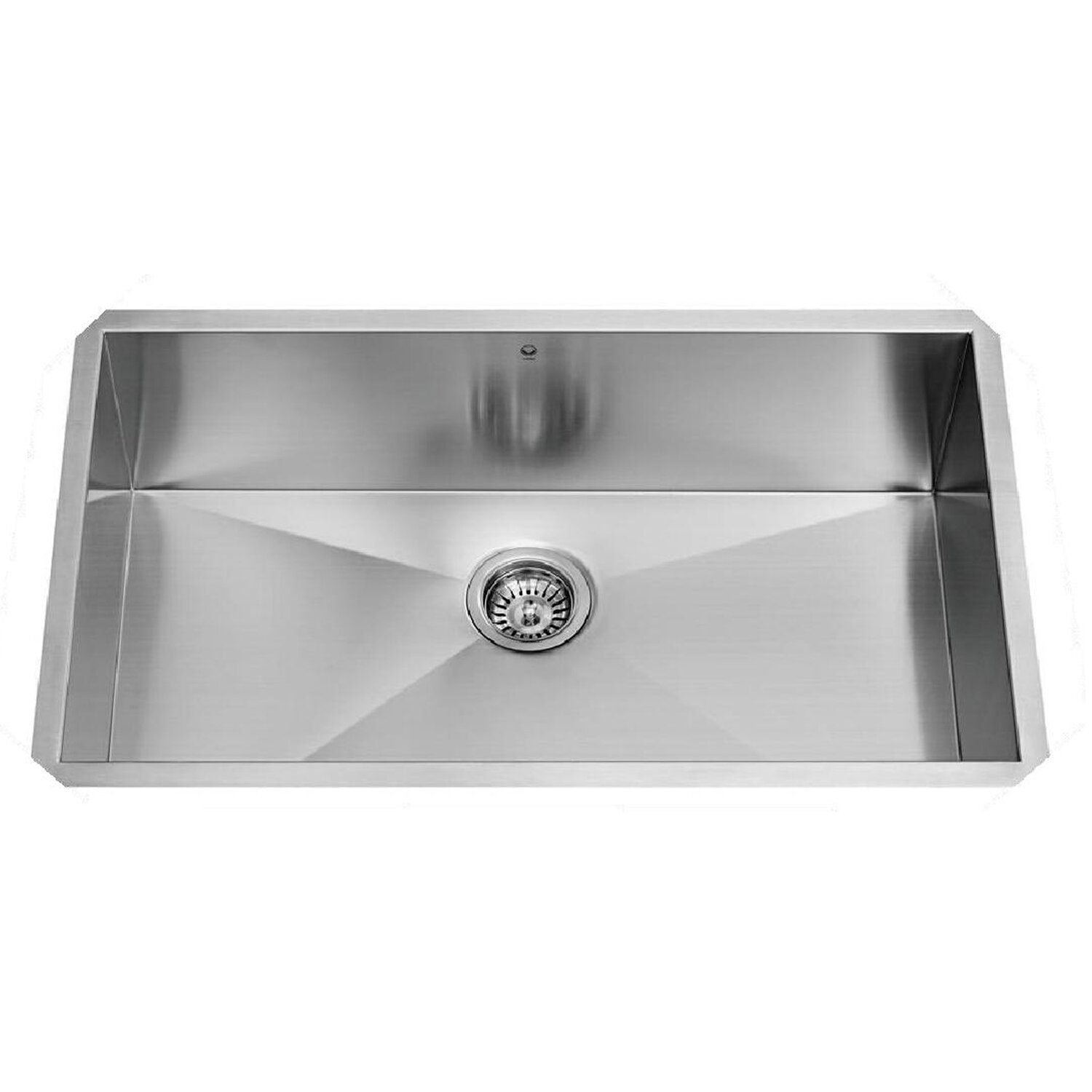 Vigo 30 X 19 Undermount Single Bowl 16 Gauge Stainless Steel Kitchen Sink Reviews Wayfair