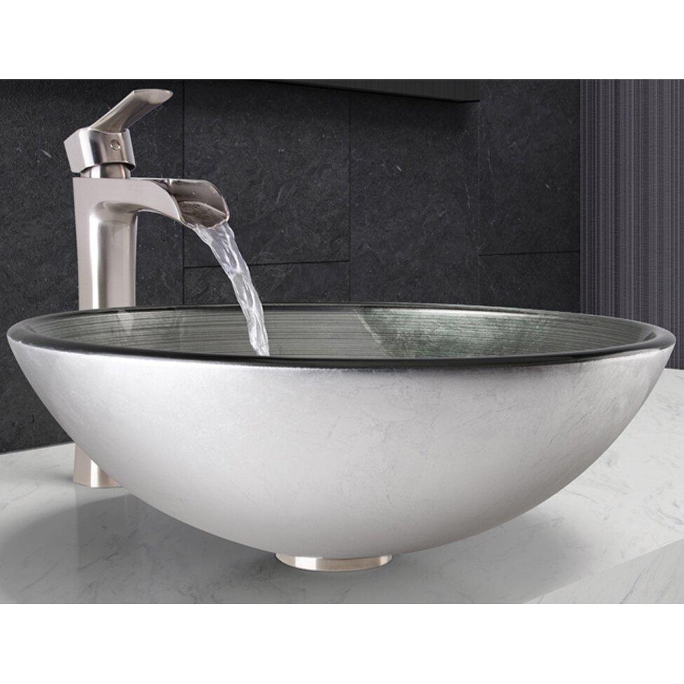 Vigo Vessel Bathroom Sink And Niko Faucet Wayfair