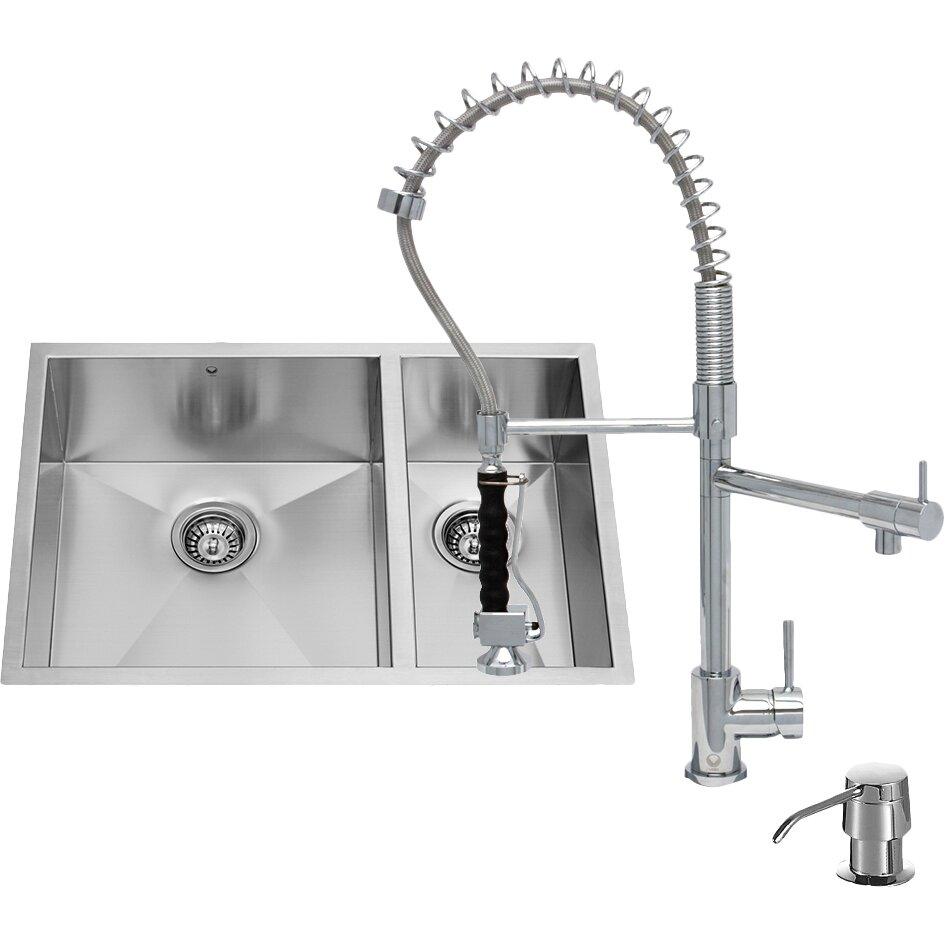 Wayfair Undermount Double Kitchen Sink