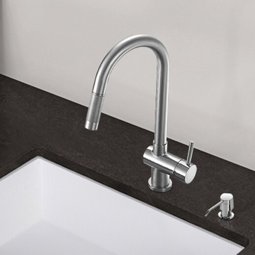 Vigo Gramercy Single Handle Pull Down Kitchen Faucet
