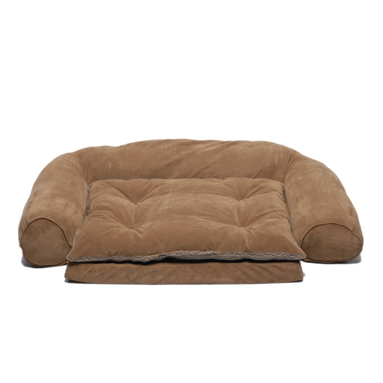 Zoey Tails Ortho Sleeper Comfort Couch Dog Bed In Chocolate Reviews
