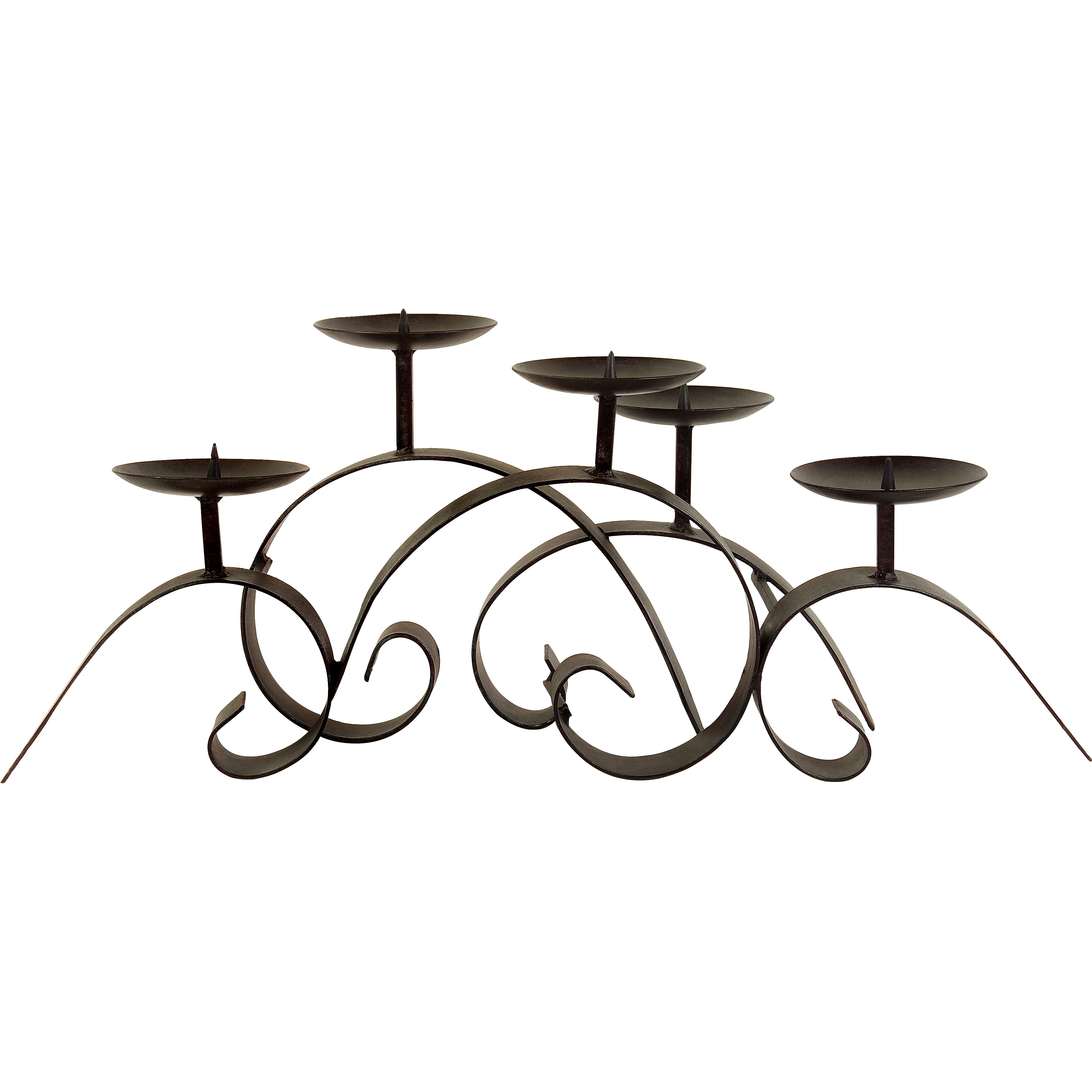 Iron Candle Stand Designs : Imax wrought iron centerpiece candelabra reviews wayfair