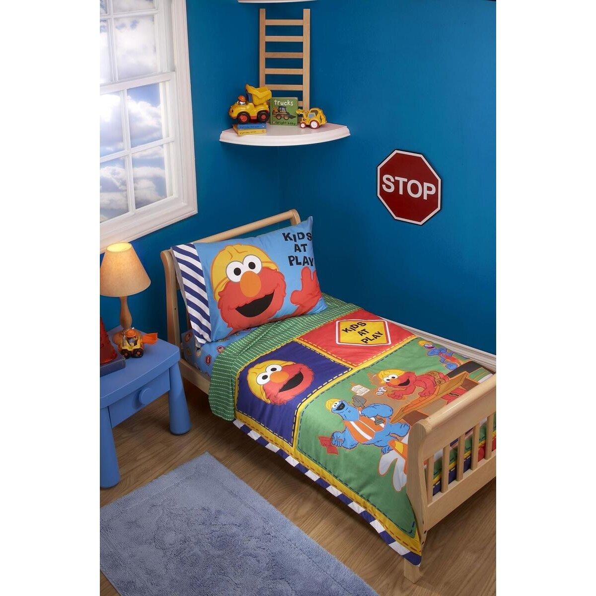 Sesame Street Construction Zone Sesame Street 4 Piece