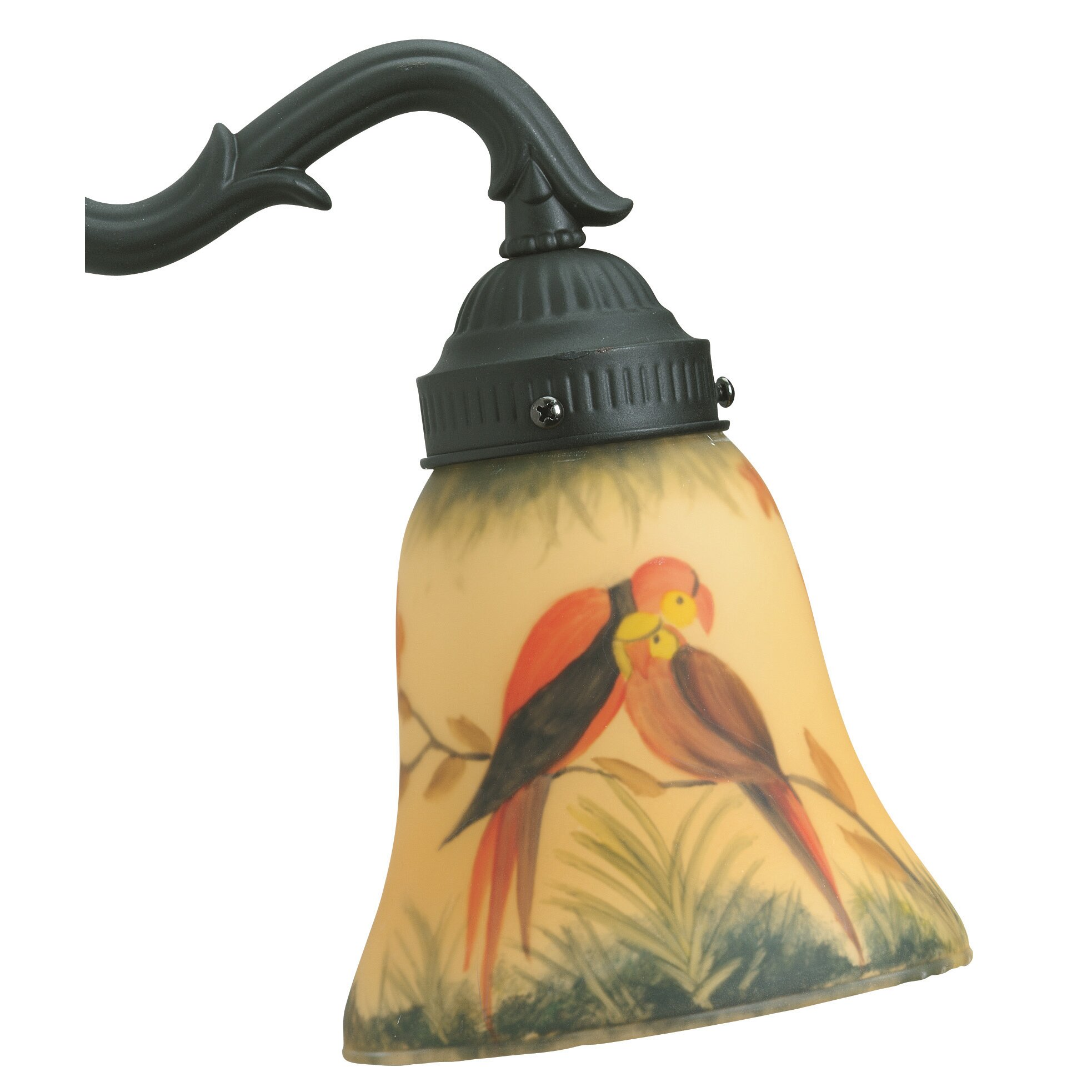 Fan Lamp Shades: Fanimation Glass Bell Ceiling Fan Fitter Shade & Reviews