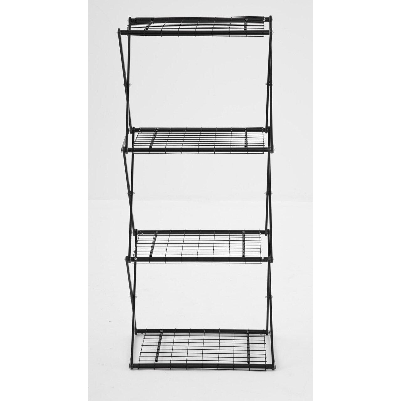 Flowerhouse Exy Narrow X Up 48 4 Shelf Shelving Unit