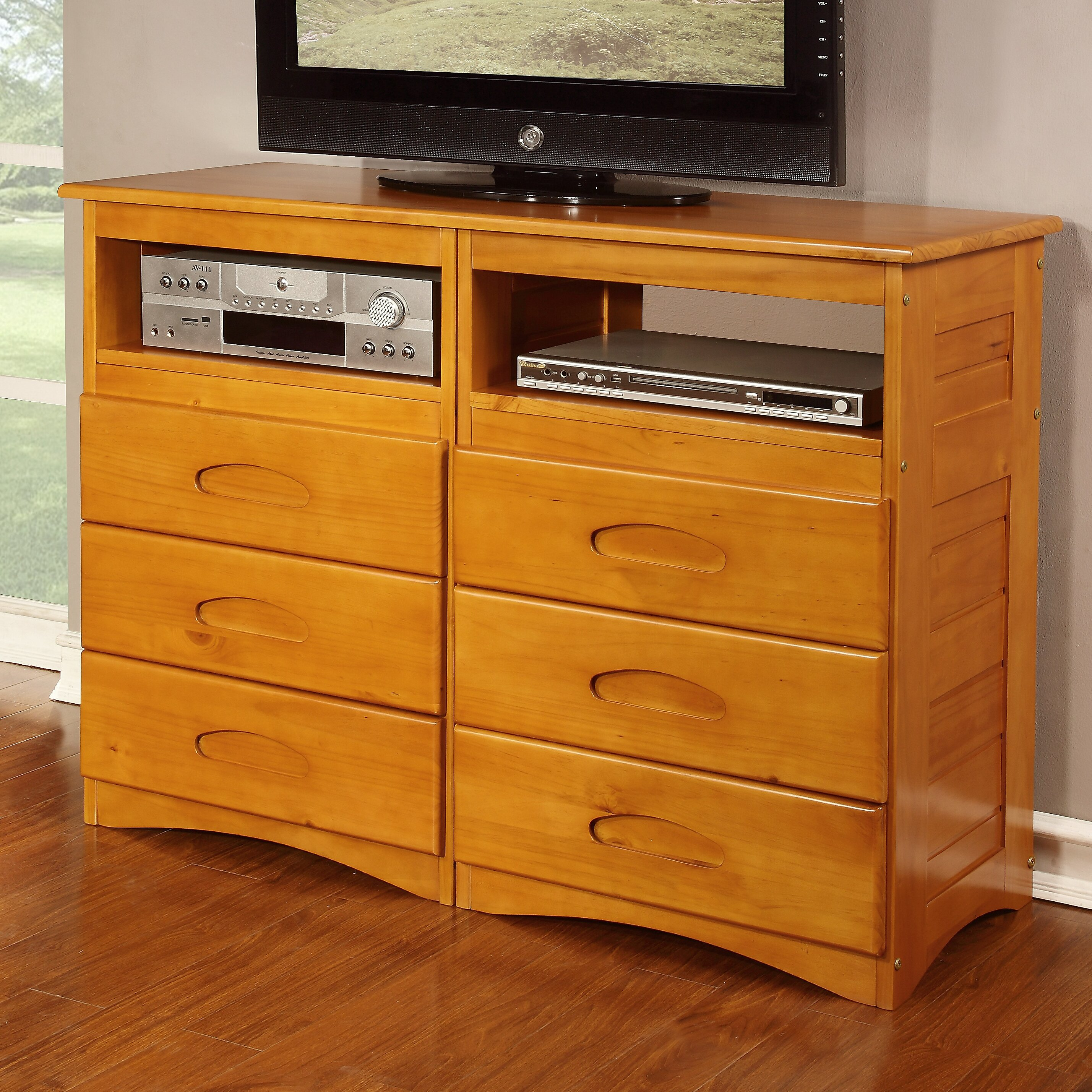 Discovery World Furniture 6 Drawer Media Chest Reviews Wayfair