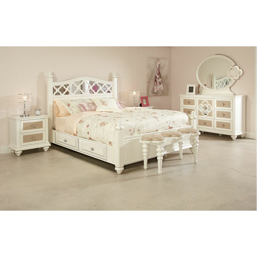 Najarian Furniture Paris Panel Customizable Bedroom Set Reviews Wayfair