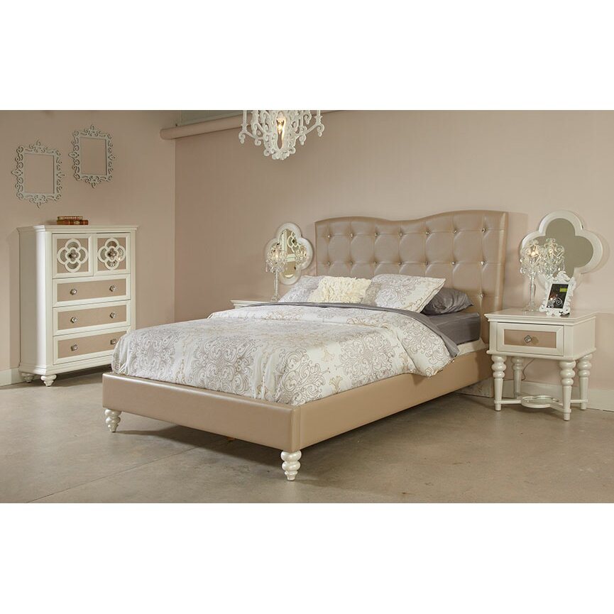 Najarian Furniture Paris Platform Customizable Bedroom Set Reviews Wayfair