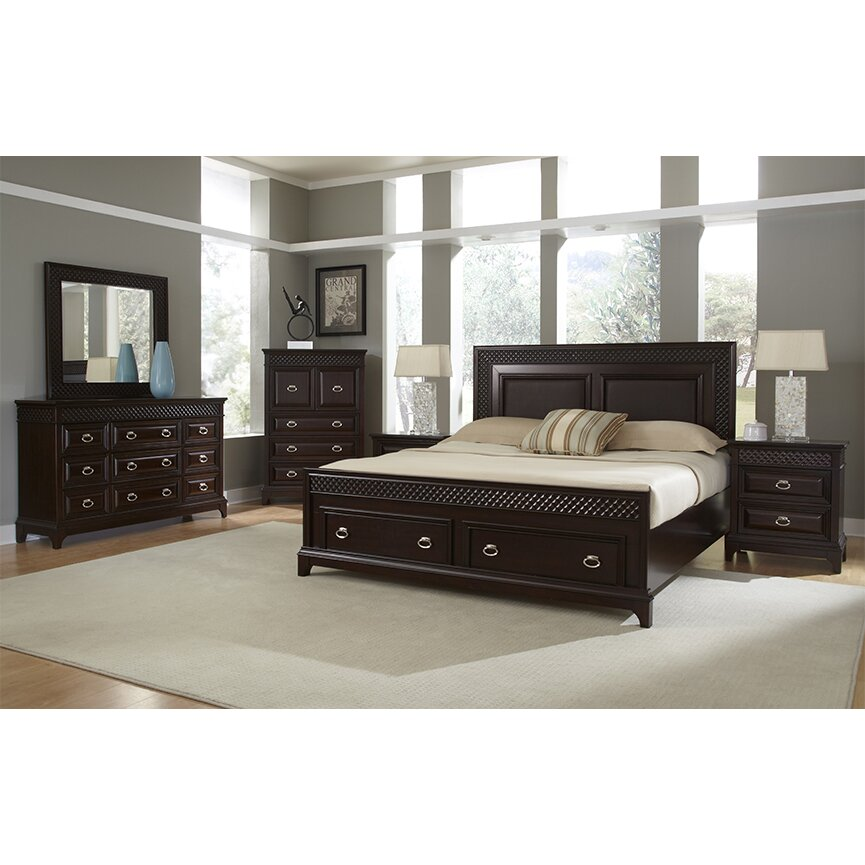 Najarian Furniture Sonoma Panel Customizable Bedroom Set Reviews Wayfair