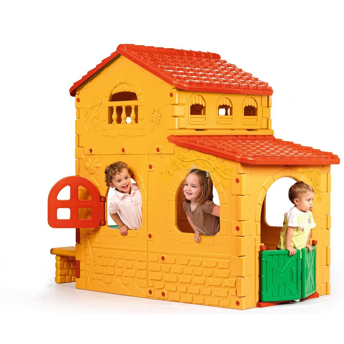 Ecr4kids active play country estate playhouse reviews for Casita infantil jardin
