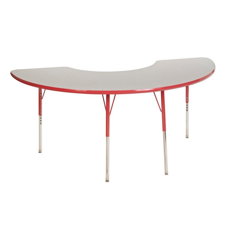 ECR4Kids 5 Piece Kidney Activity Table amp 18quot Chair Set  : ECR4kids 5 Piece Kidney Activity Table and 18 Chair Set from www.wayfair.com size 960 x 960 jpeg 42kB