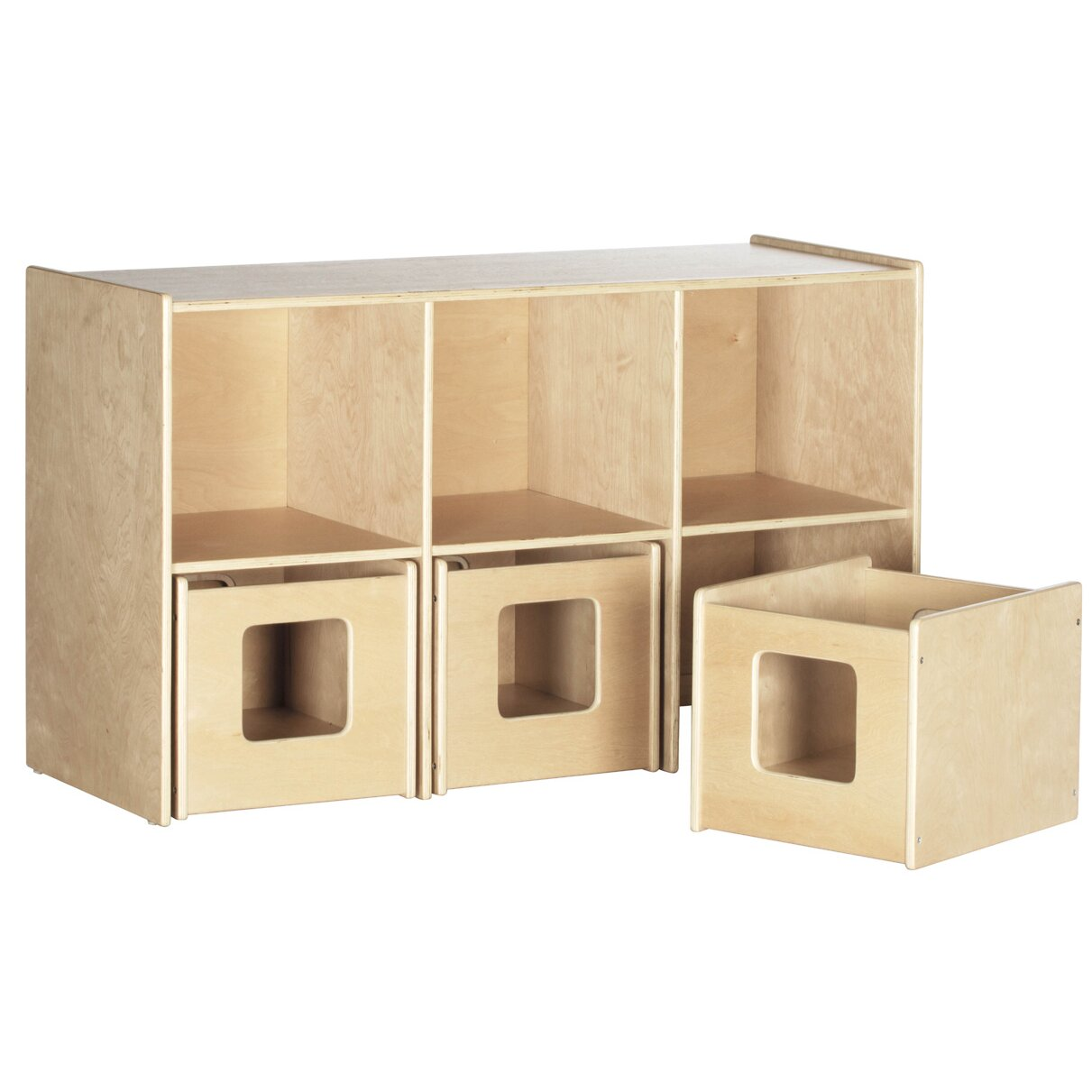 Ecr4kids see store shelf 6 compartment cubby reviews for Wayfair store