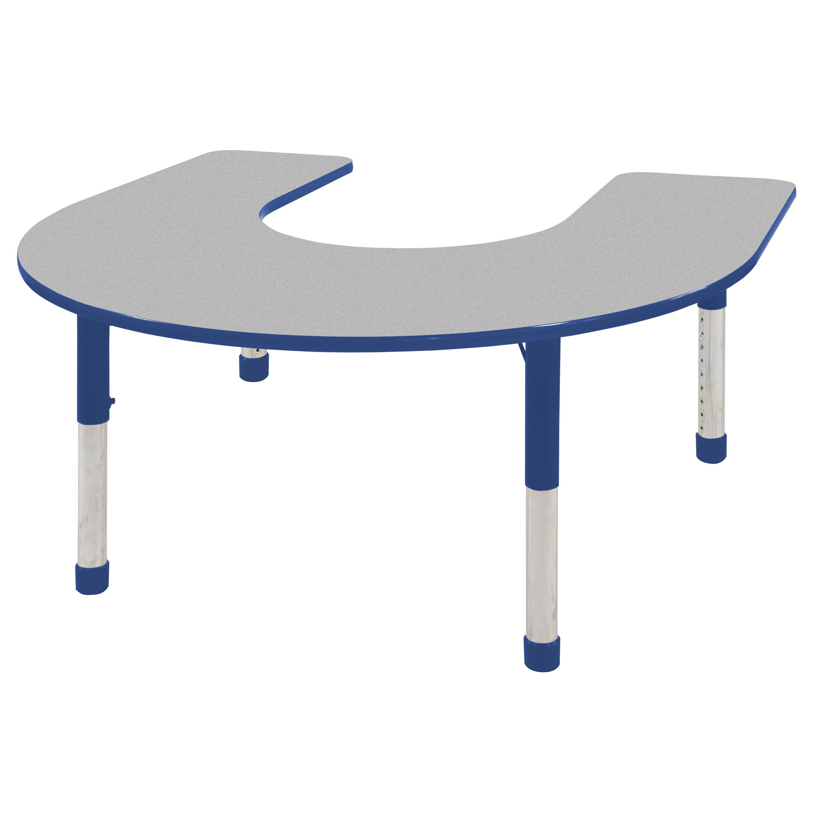 Ecr4kids 66 x 60 horseshoe activity table reviews for Table x reviews