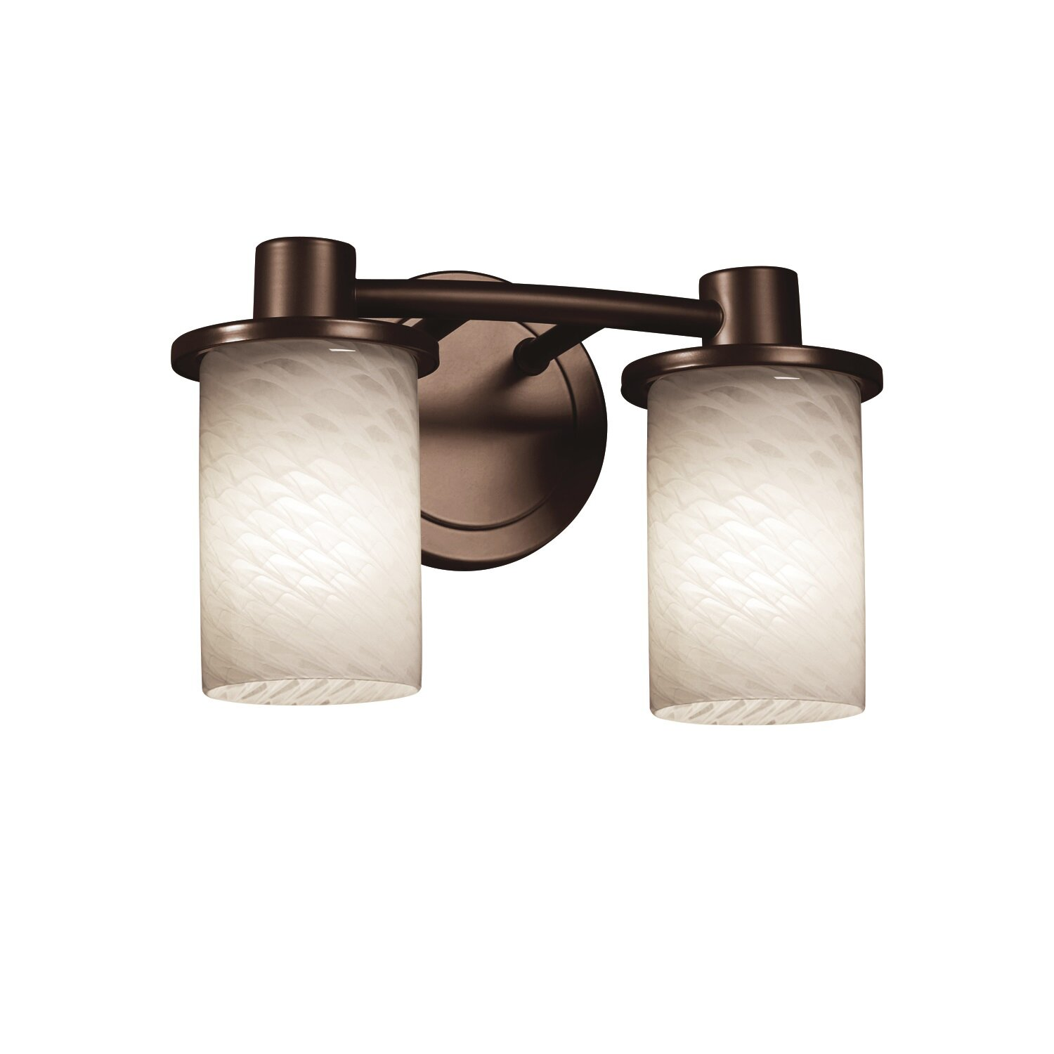 Justice Vanity Lights : Justice Design Group Fusion Rondo 2 Light Vanity Light & Reviews Wayfair
