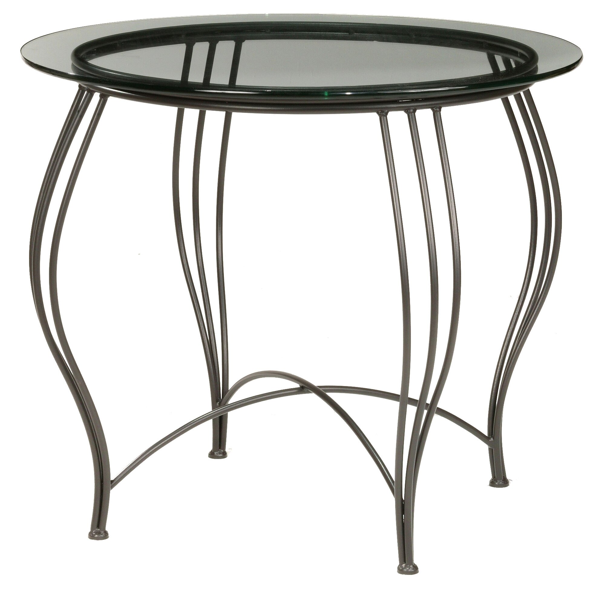 Stone county ironworks bella ice cream dining table wayfair for Cream dining table