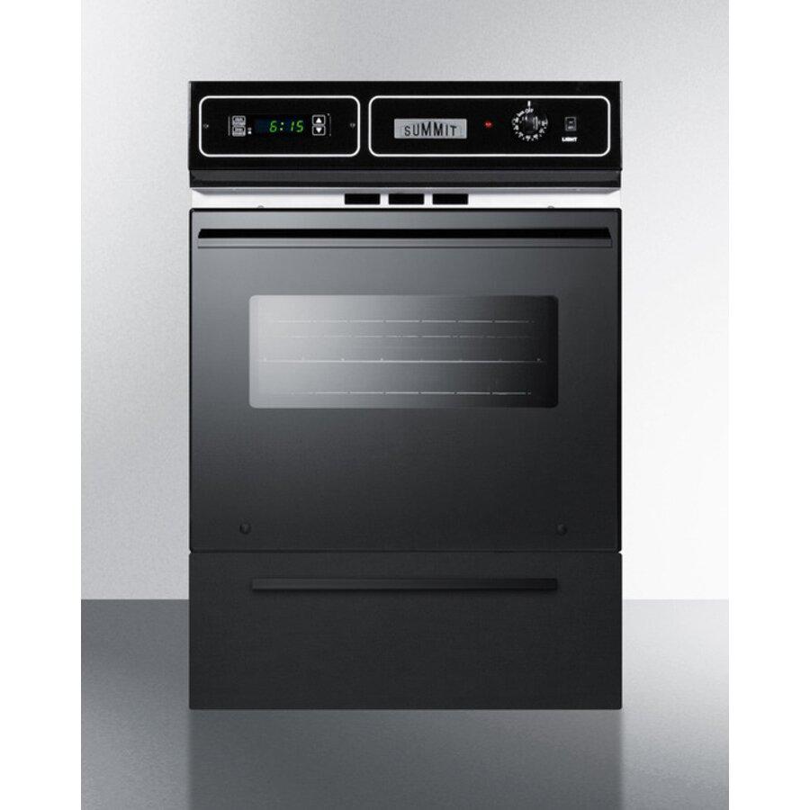 Summit Appliance 24 Gas Single Wall Oven Wayfair