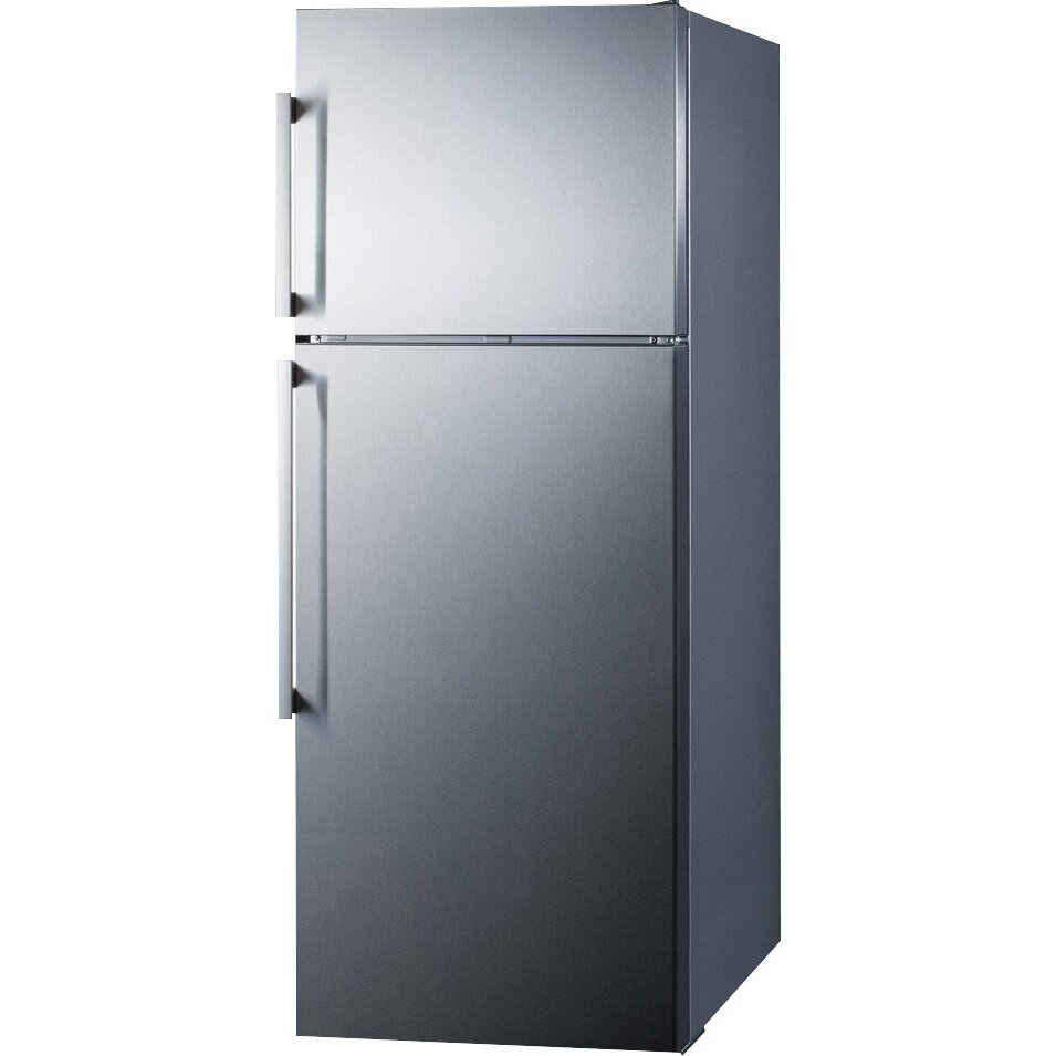 Summit Appliance Thin Line 12 6 Cu Ft Top Freezer