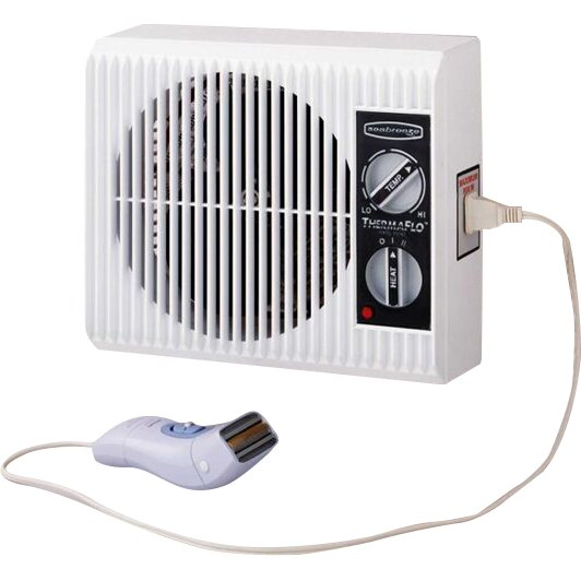 Seabreeze electric off the wall bed bathroom heater for Space heater for bathroom