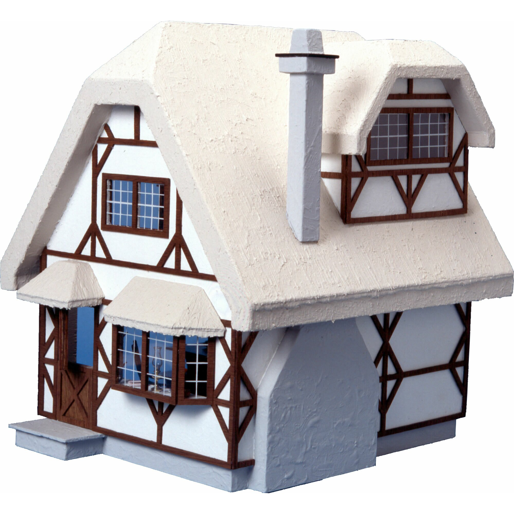 Greenleaf Dollhouses Aster Cottage Dollhouse & Reviews