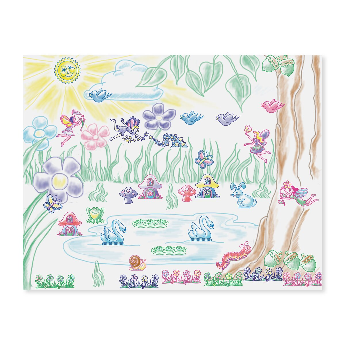 Melissa Doug Stamp A Scene Fairy Garden Reviews Wayfair