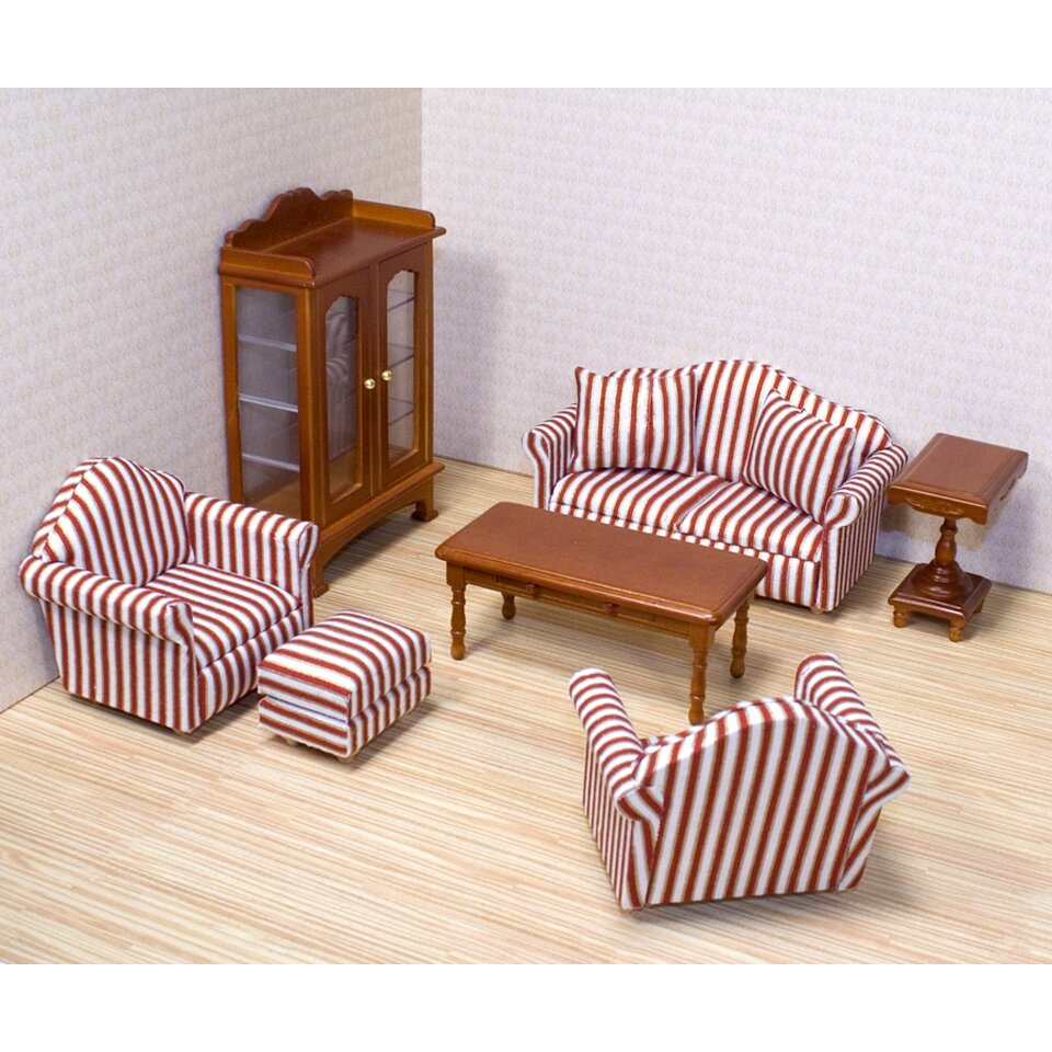 Melissa Doug Dollhouse Living Room Furniture Reviews Wayfair