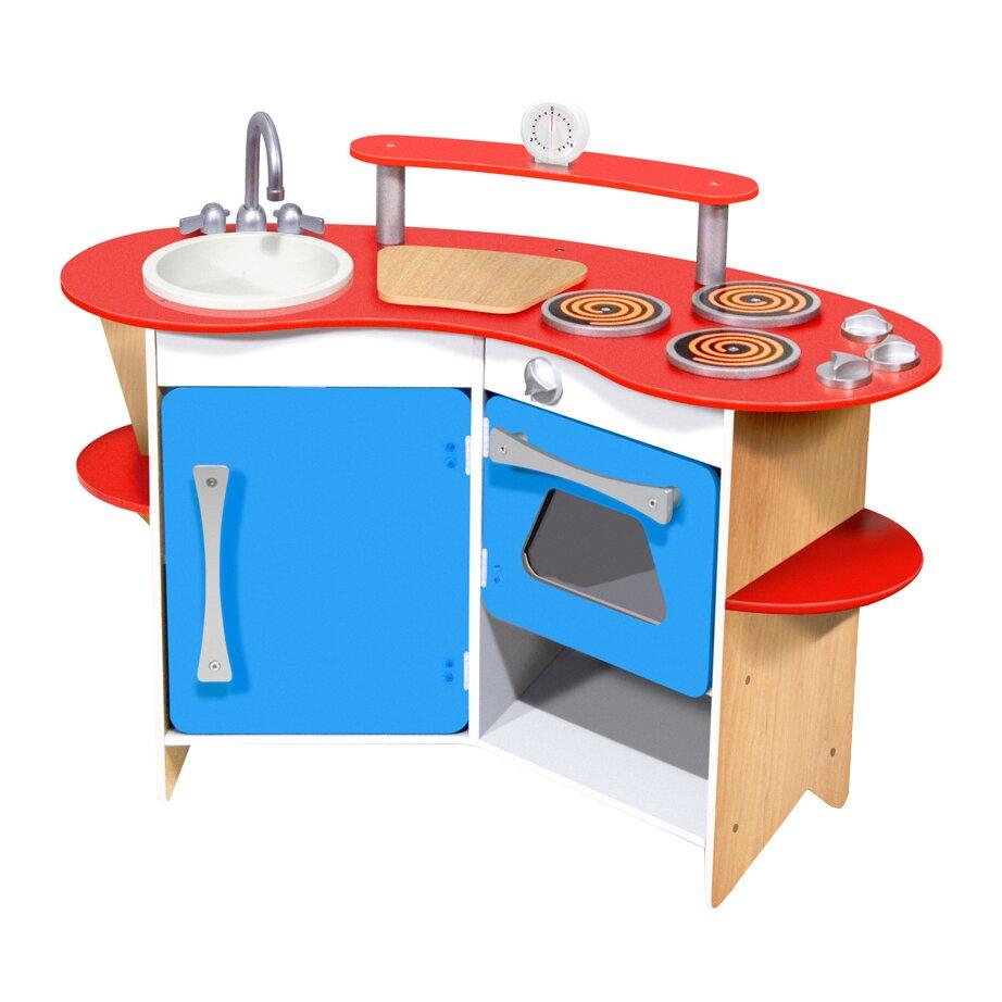 Melissa Doug Cook 39 S Corner Wooden Kitchen Reviews Wayfair