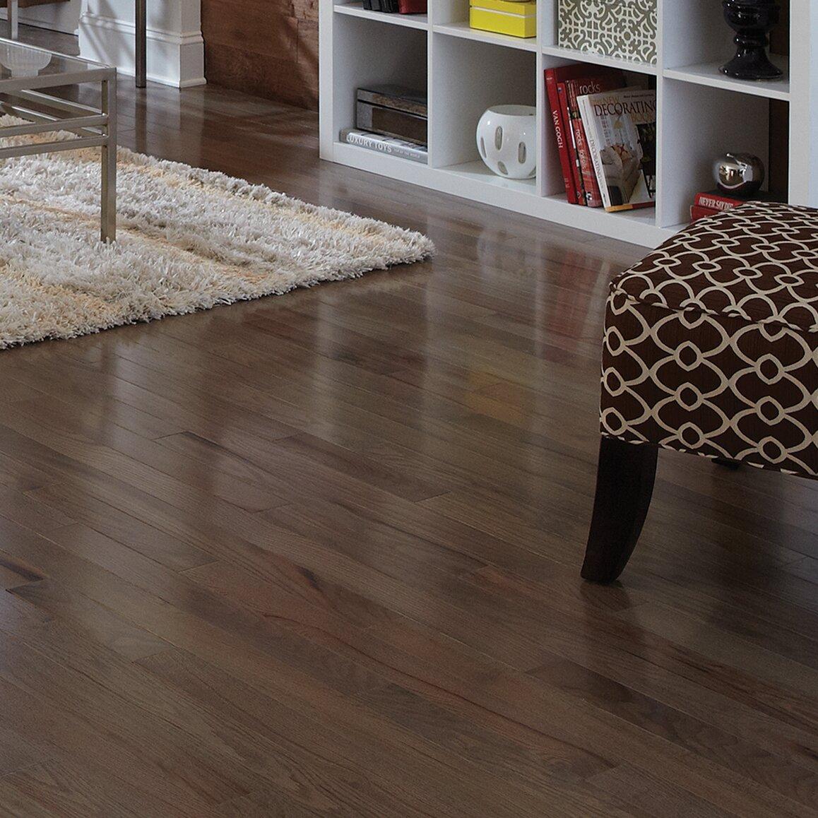 "Somerset Color Strip 2-1/4"" Solid White Oak Hardwood Flooring in Smoke ..."