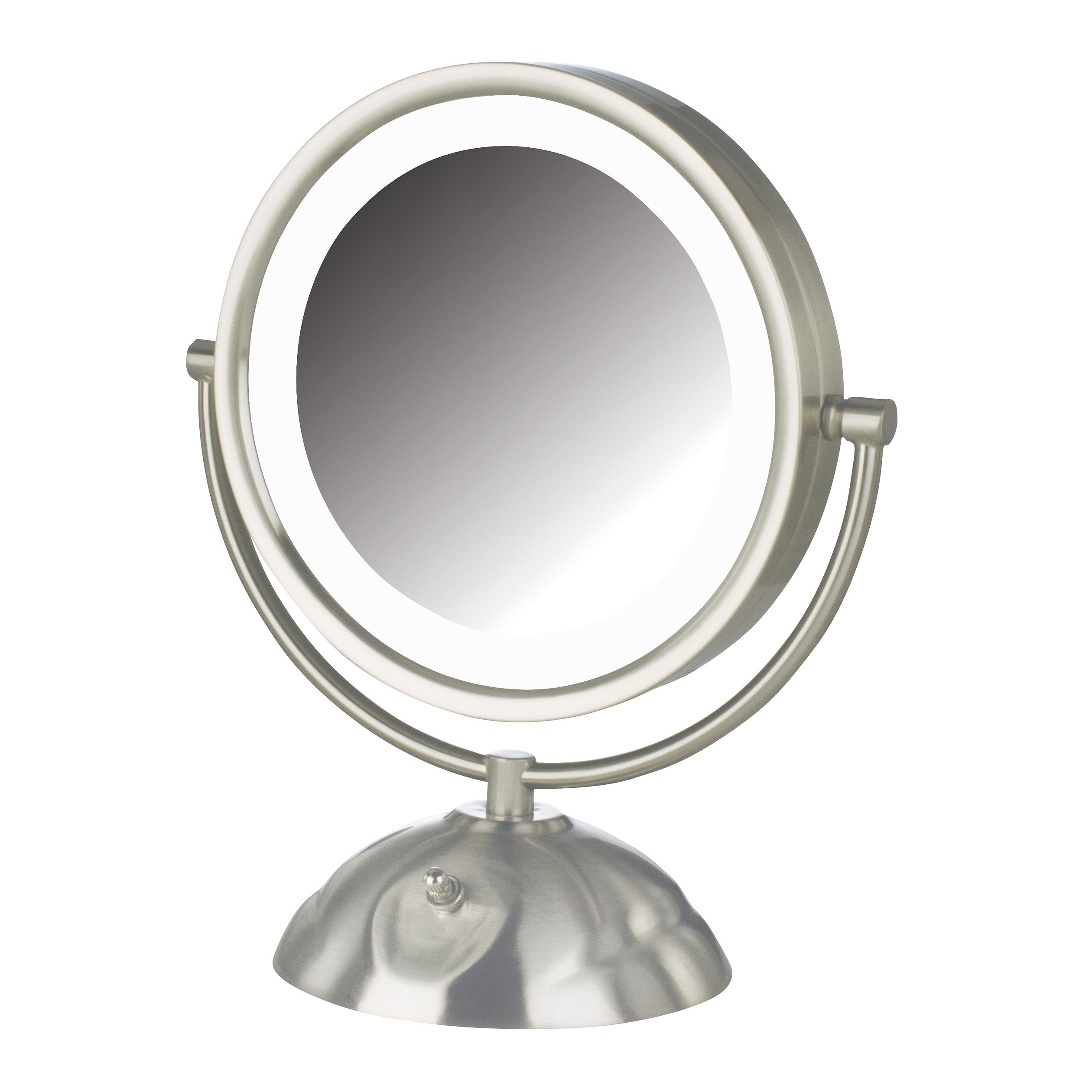 Jerdon 5x 1x Euro Lighted Makeup Mirror
