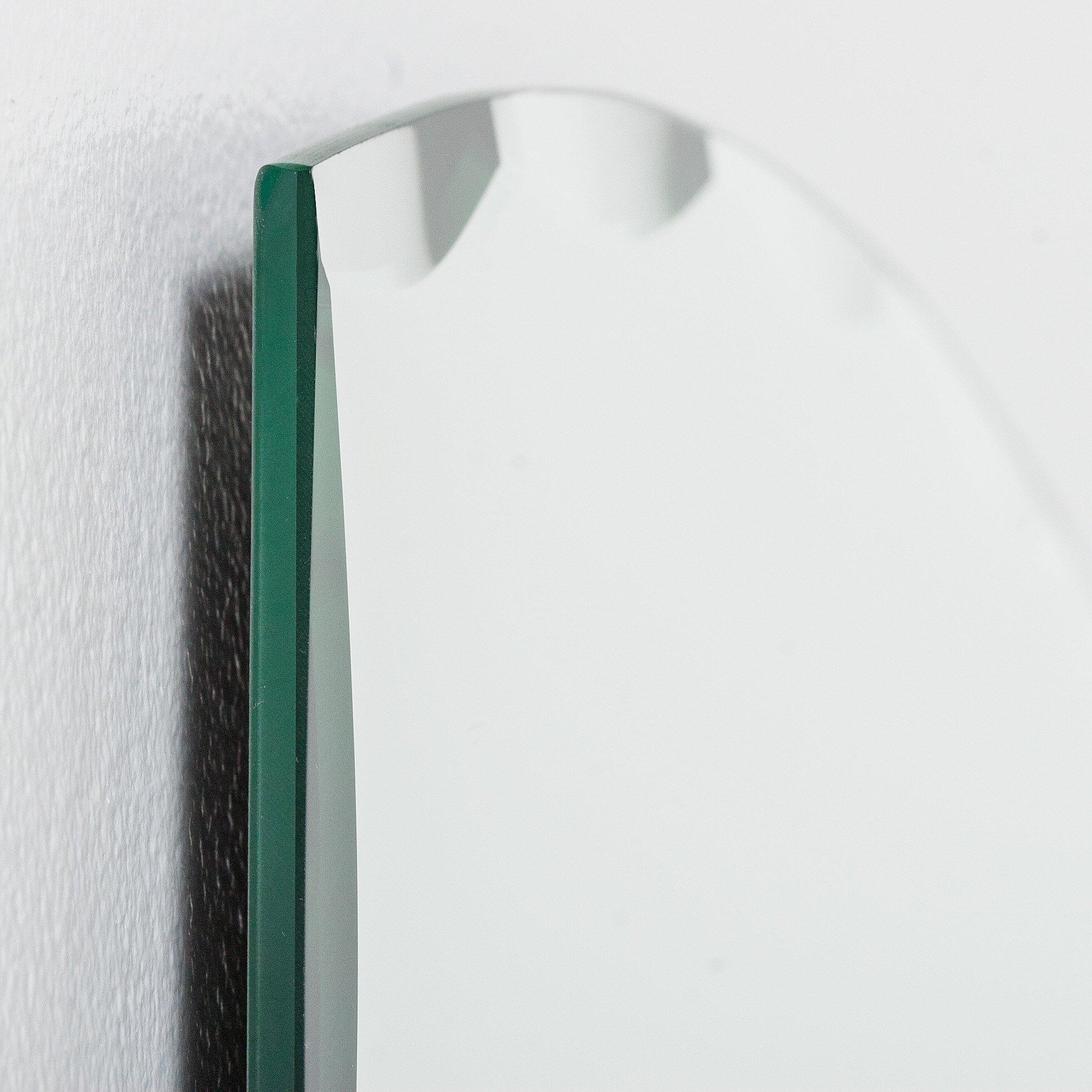 Decor wonderland paris modern wall mirror reviews wayfair for Modern wall mirror