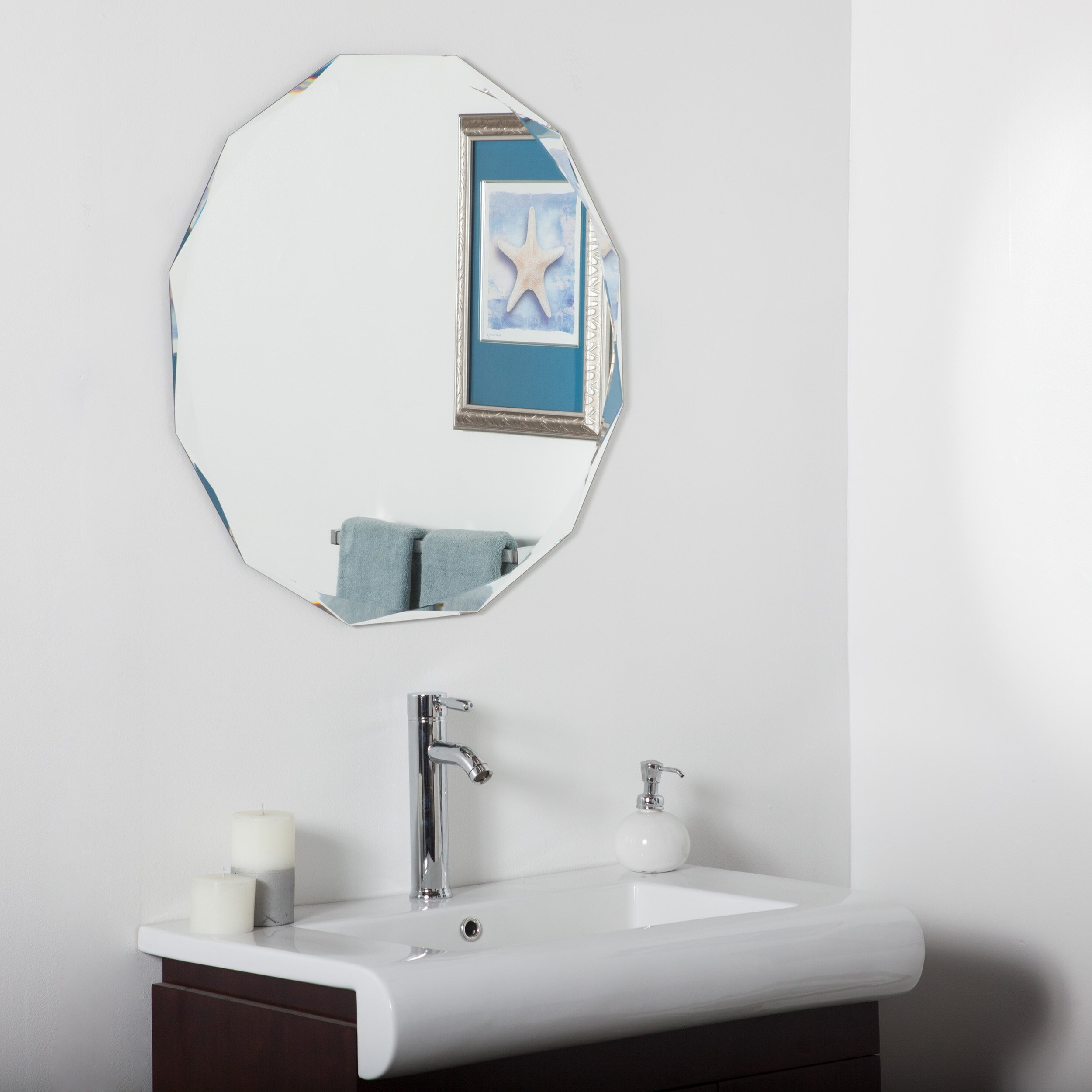 Frameless Mirror  eBay