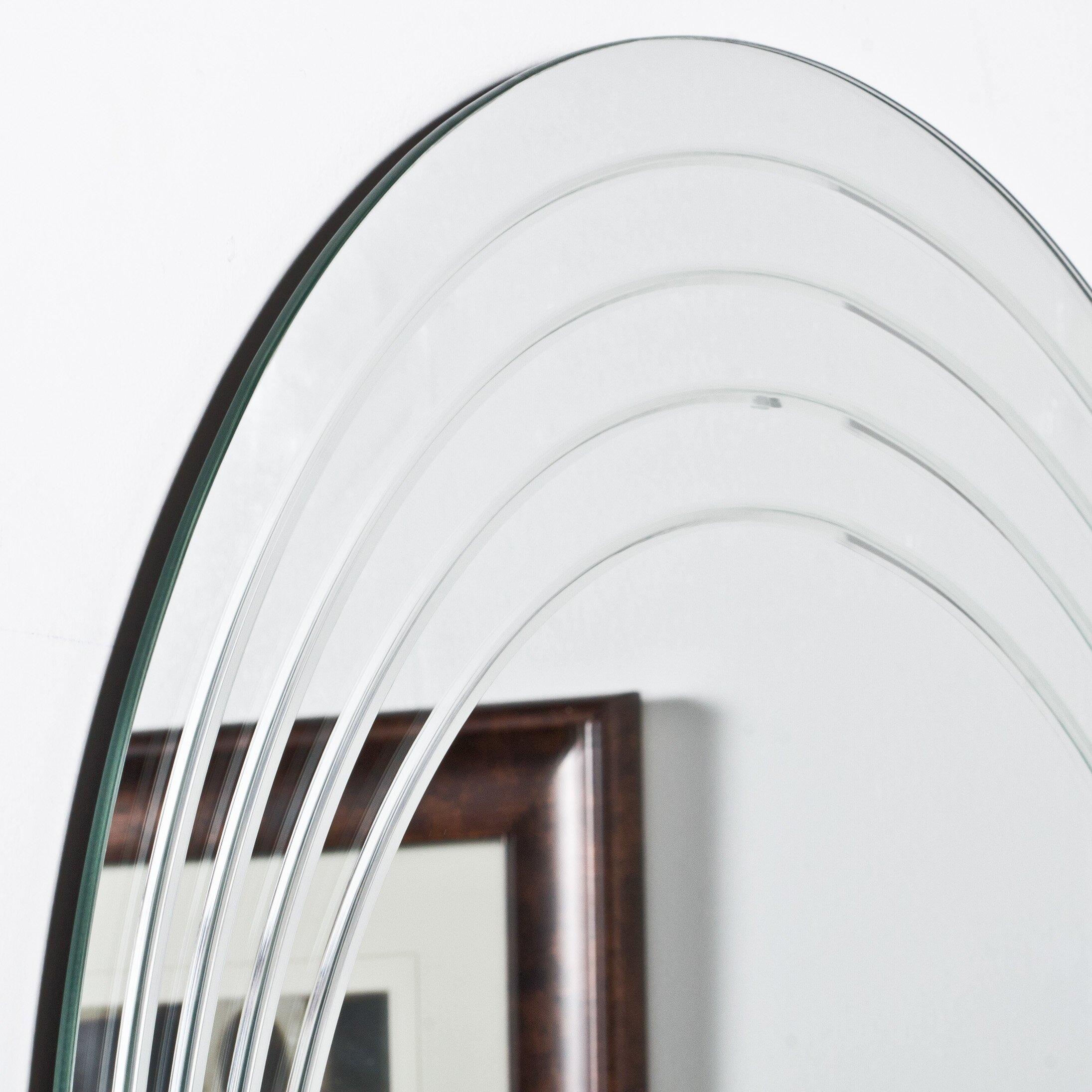 Decor Wonderland Bryn Modern Wall Mirror Reviews Wayfair