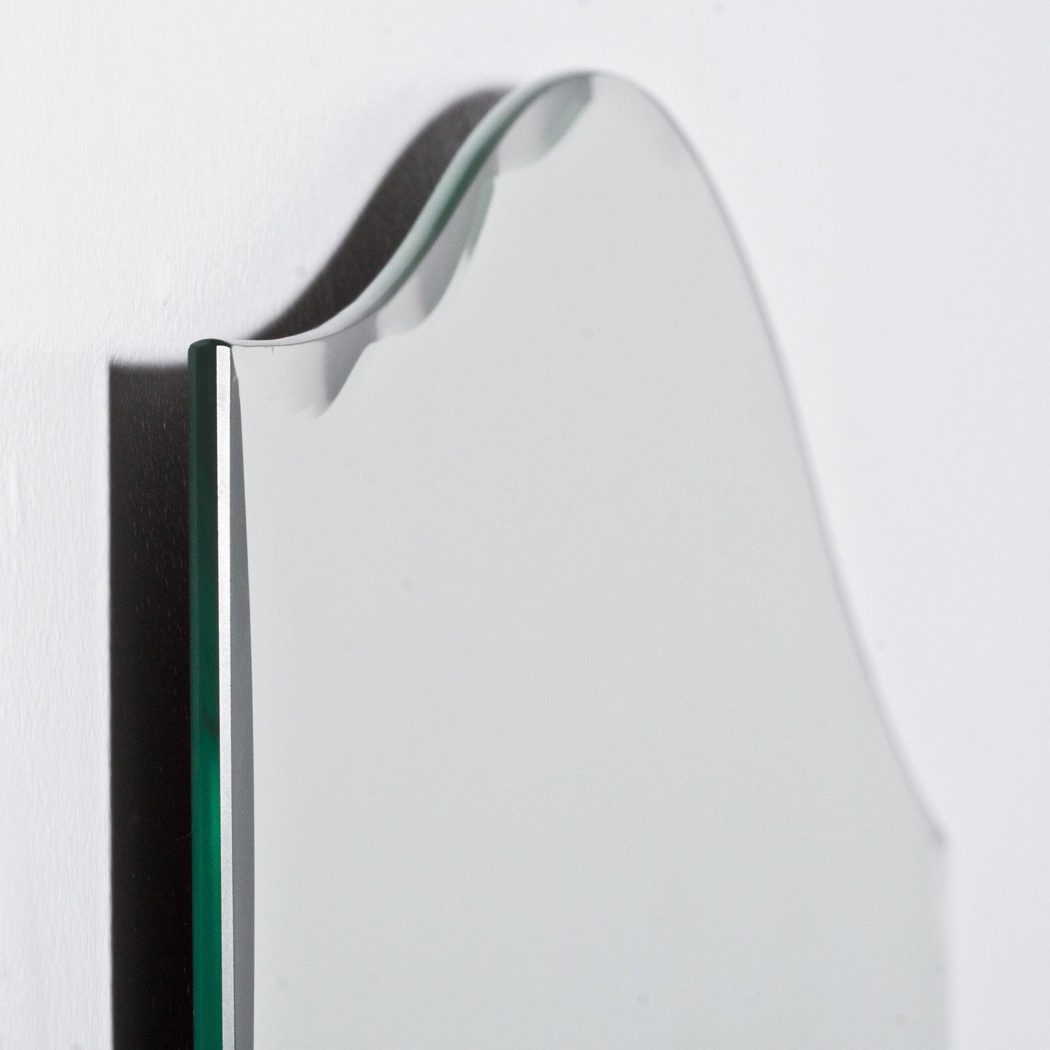 Decor wonderland allison modern wall mirror reviews for Modern wall mirror