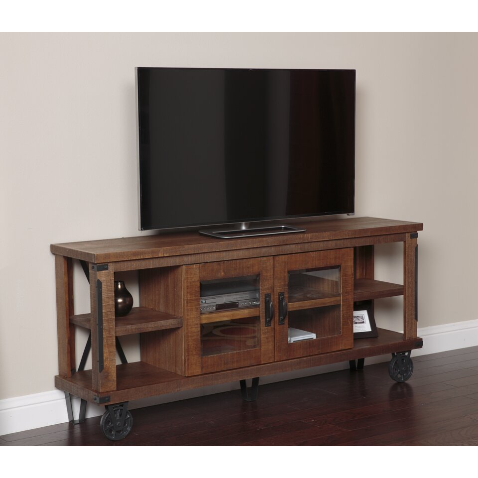 American furniture classics industrial tv stand reviews for Tv furniture