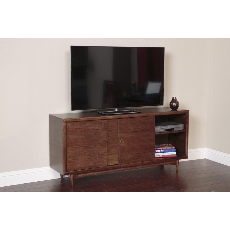 american furniture classics mid century tv stand reviews wayfair. Black Bedroom Furniture Sets. Home Design Ideas