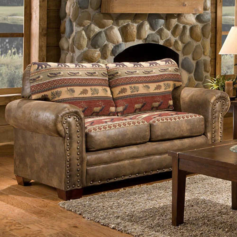 Lodge 4 piece living room set with sleeper sofa reviews wayfair