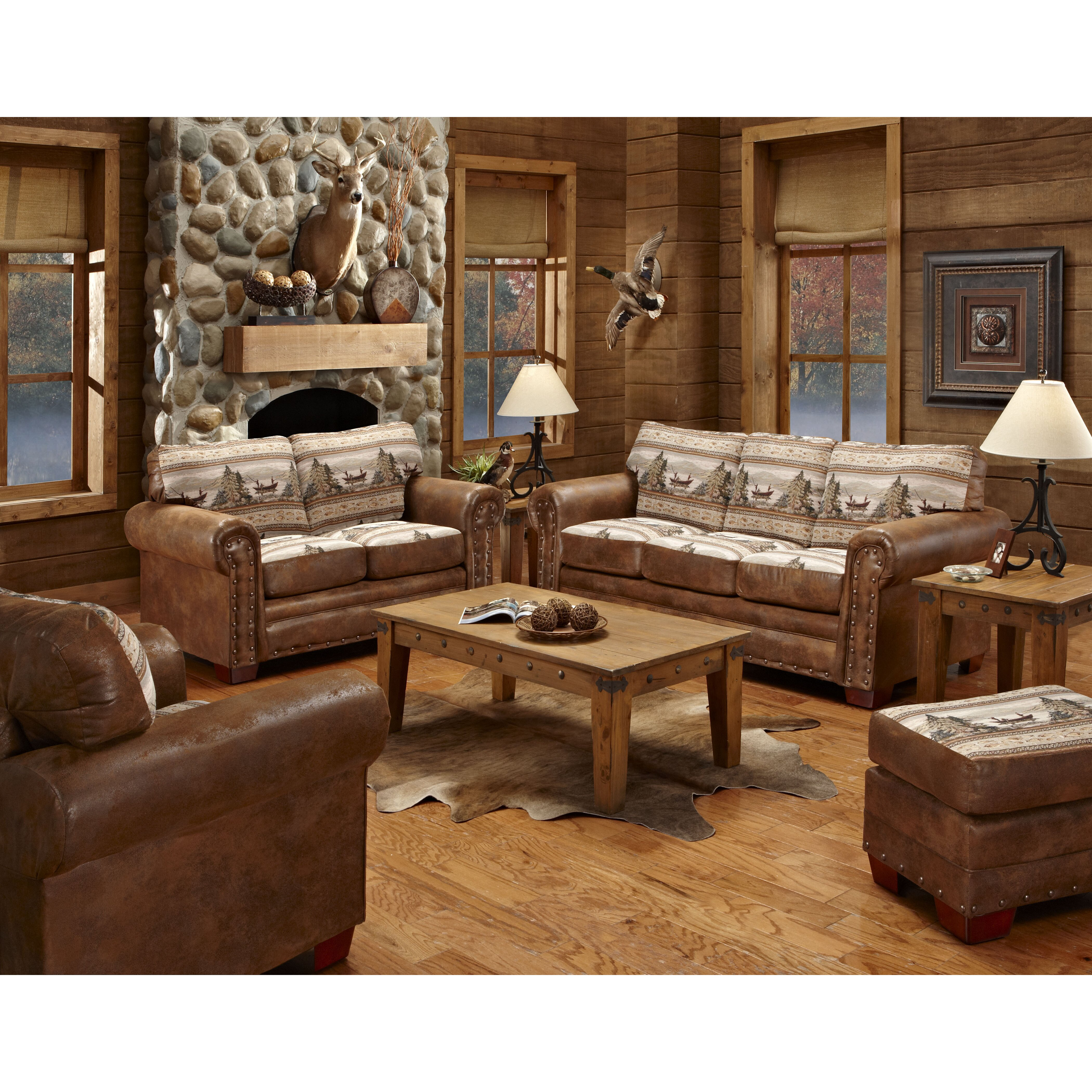 American furniture classics alpine lodge 4 piece living for 4 piece living room set