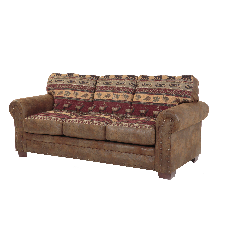 American furniture classics sierra lodge sleeper sofa for Furnishing america