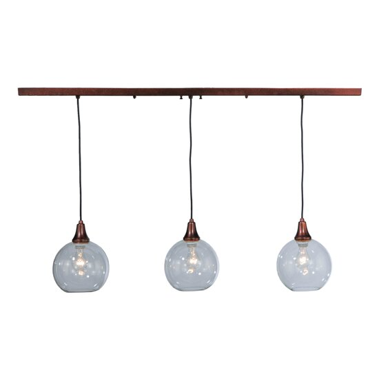 Meyda Tiffany Bolla 3 Light Kitchen Island Pendant