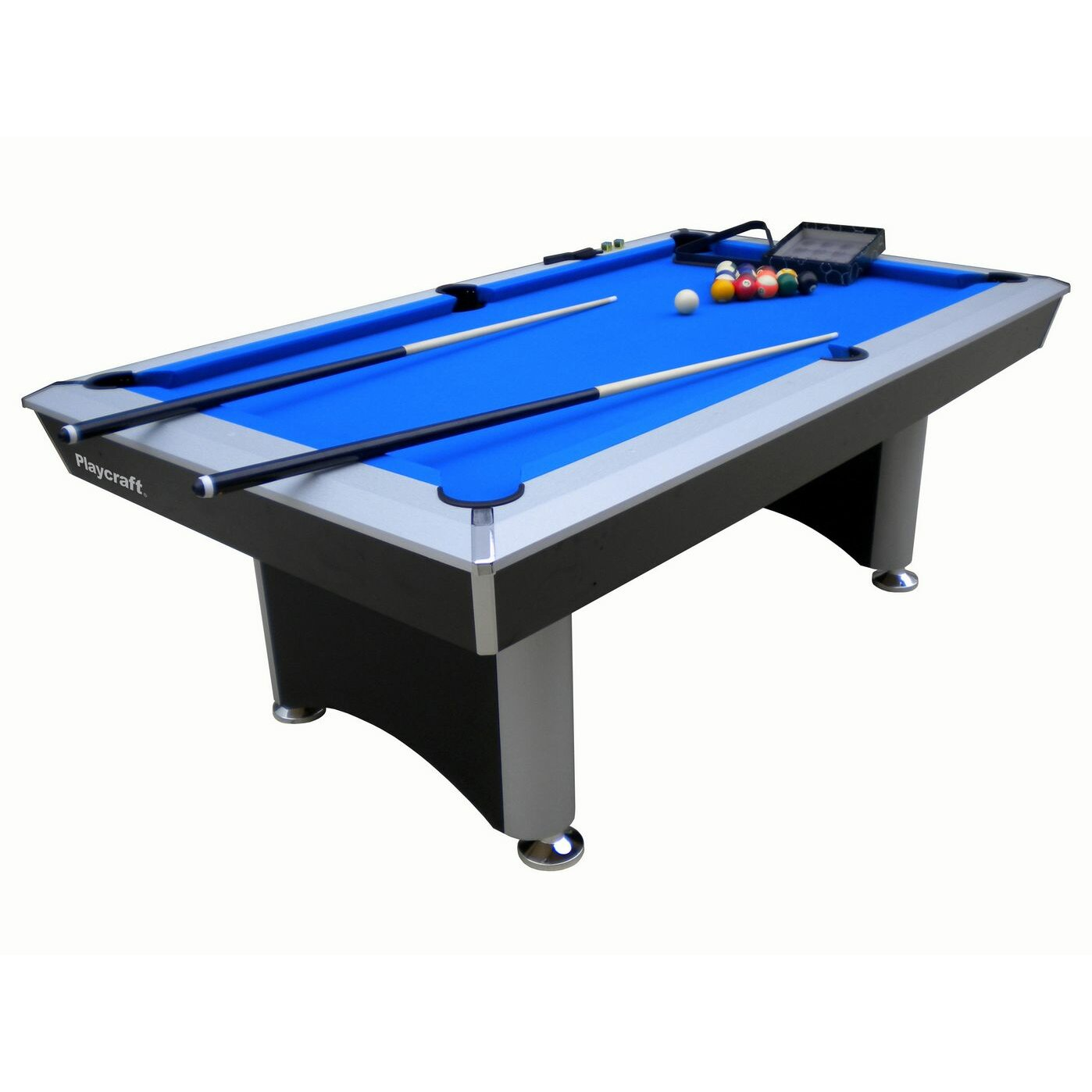 Playcraft 3 in 1 sprint 7 39 pool table reviews wayfair - Billard table a manger ...