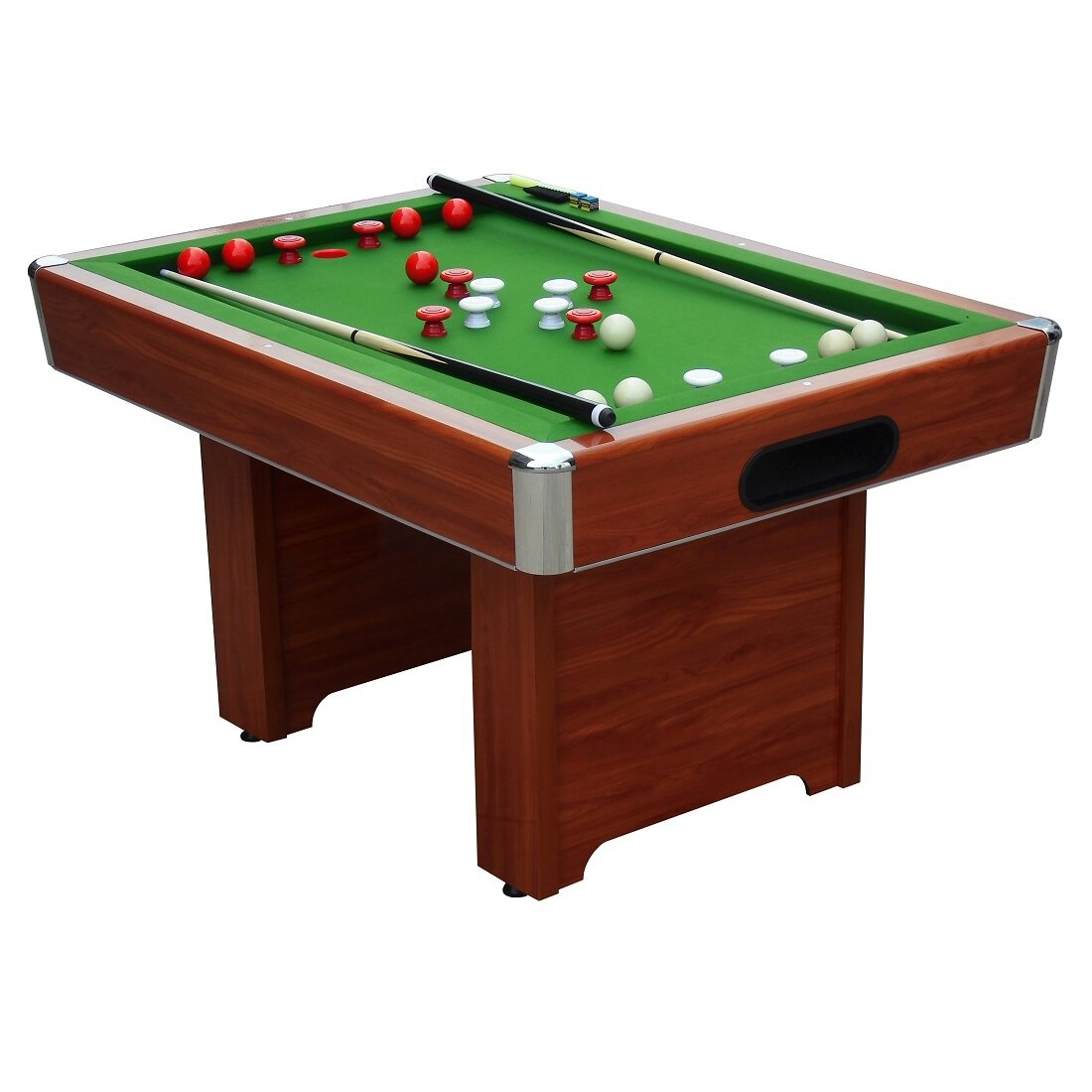 Playcraft hartford 3 4 slate bed bumper 4 39 pool table for 1 inch slate pool table