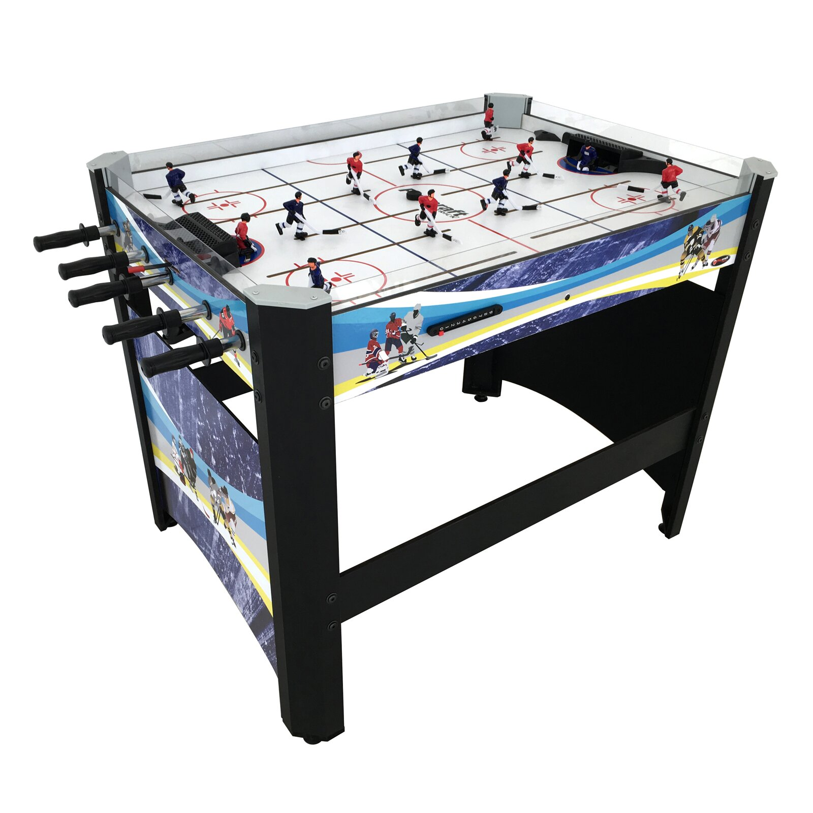 Playcraft 40 rod hockey table reviews wayfair for Table hockey