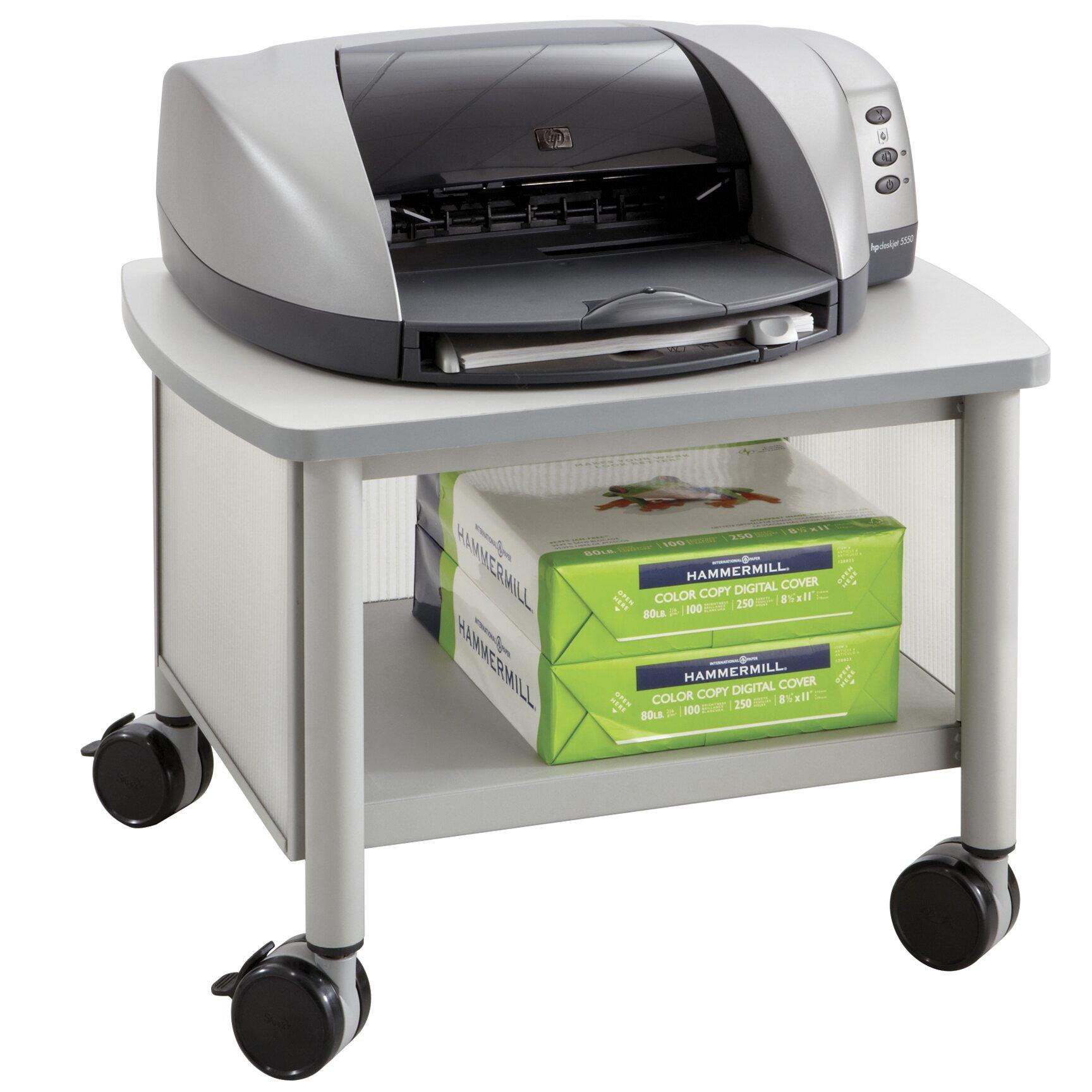Safco Impromptu Mobile Printer Stand & Reviews   Wayfair UK