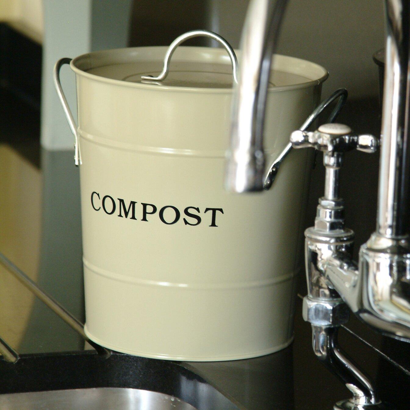 Exaco Cu Ft Kitchen Countertop Composter Reviews Wayfair