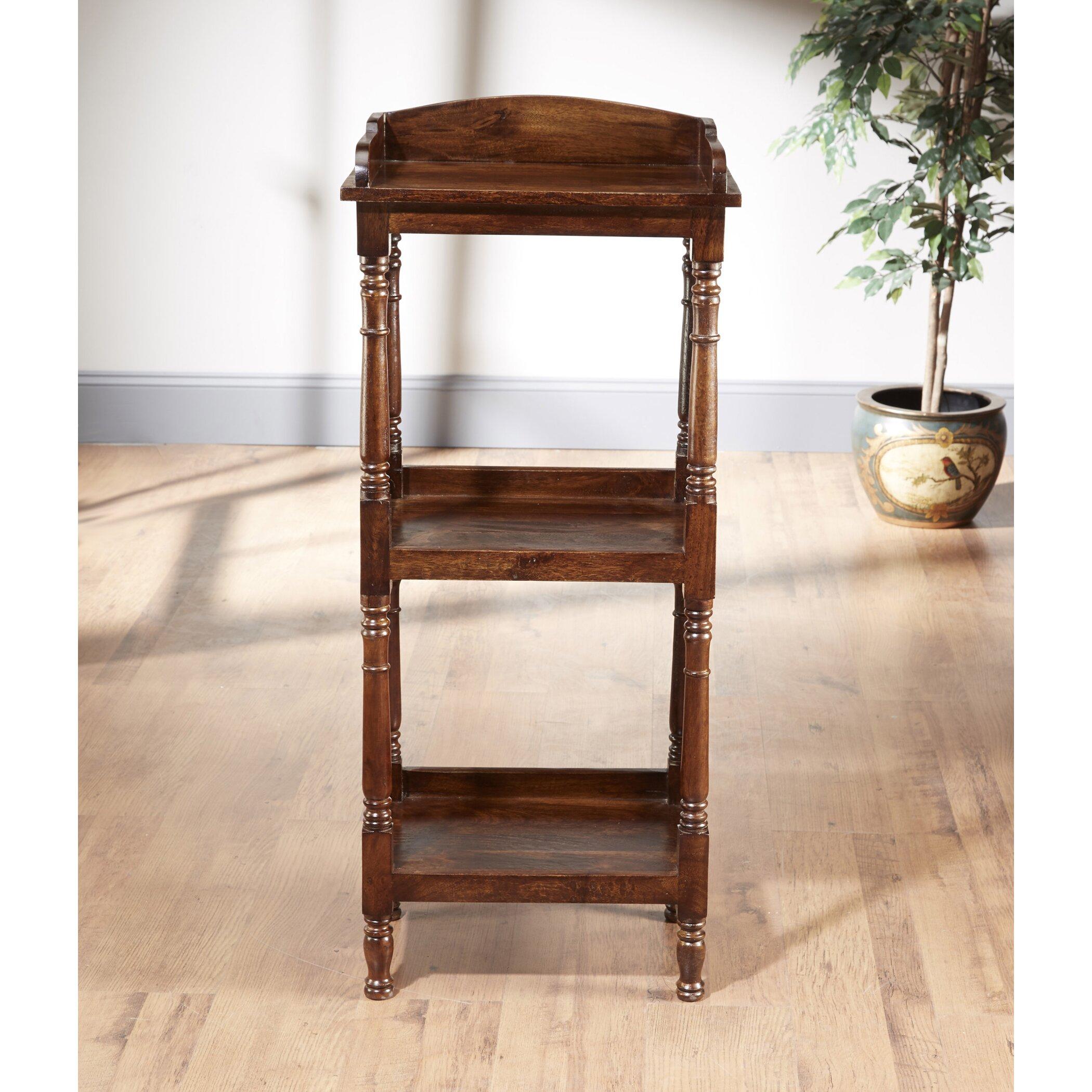 aa importing 3 tier narrow 47 etagere bookcase wayfair