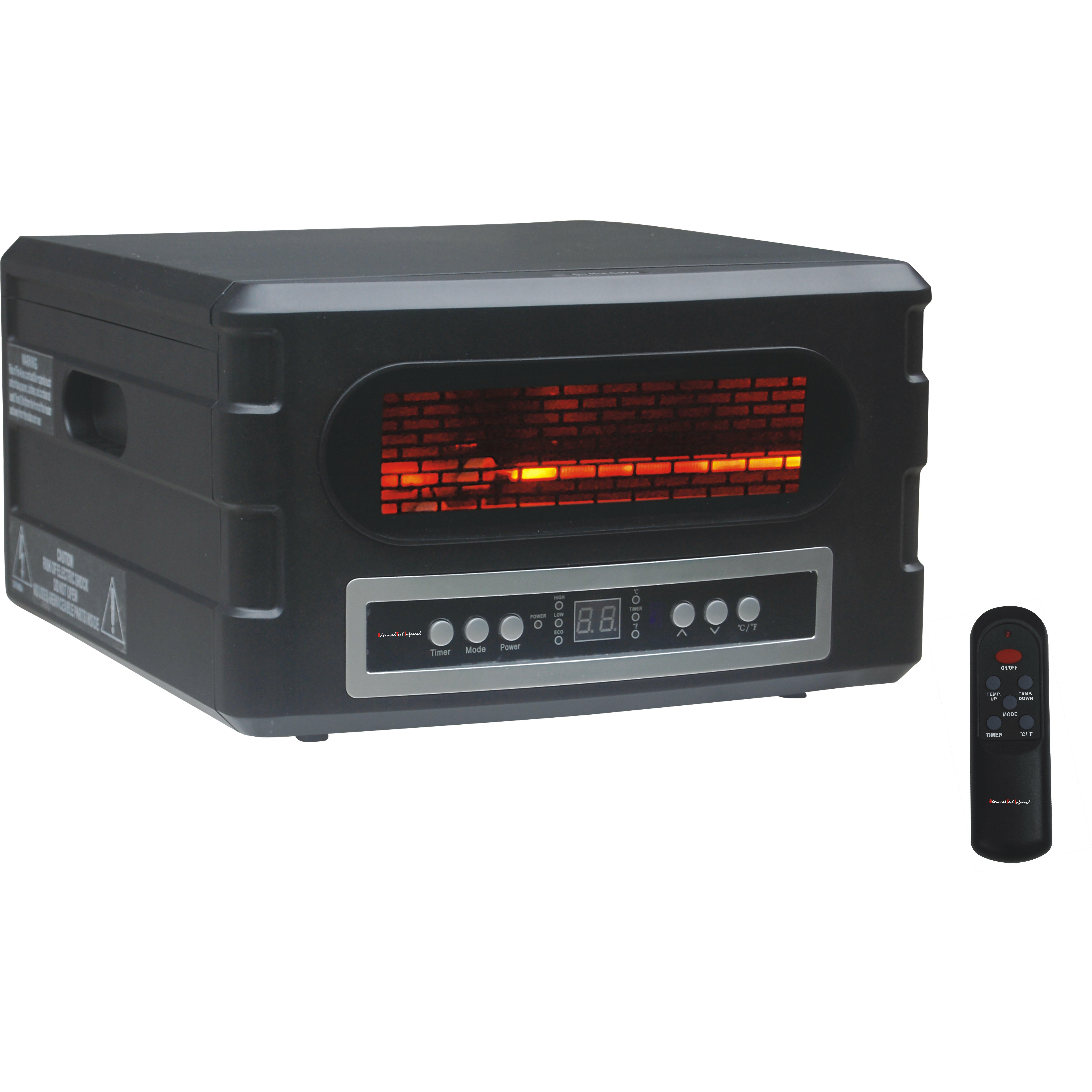 Advanced Tech Infrared 1 500 Watt Portable Electric