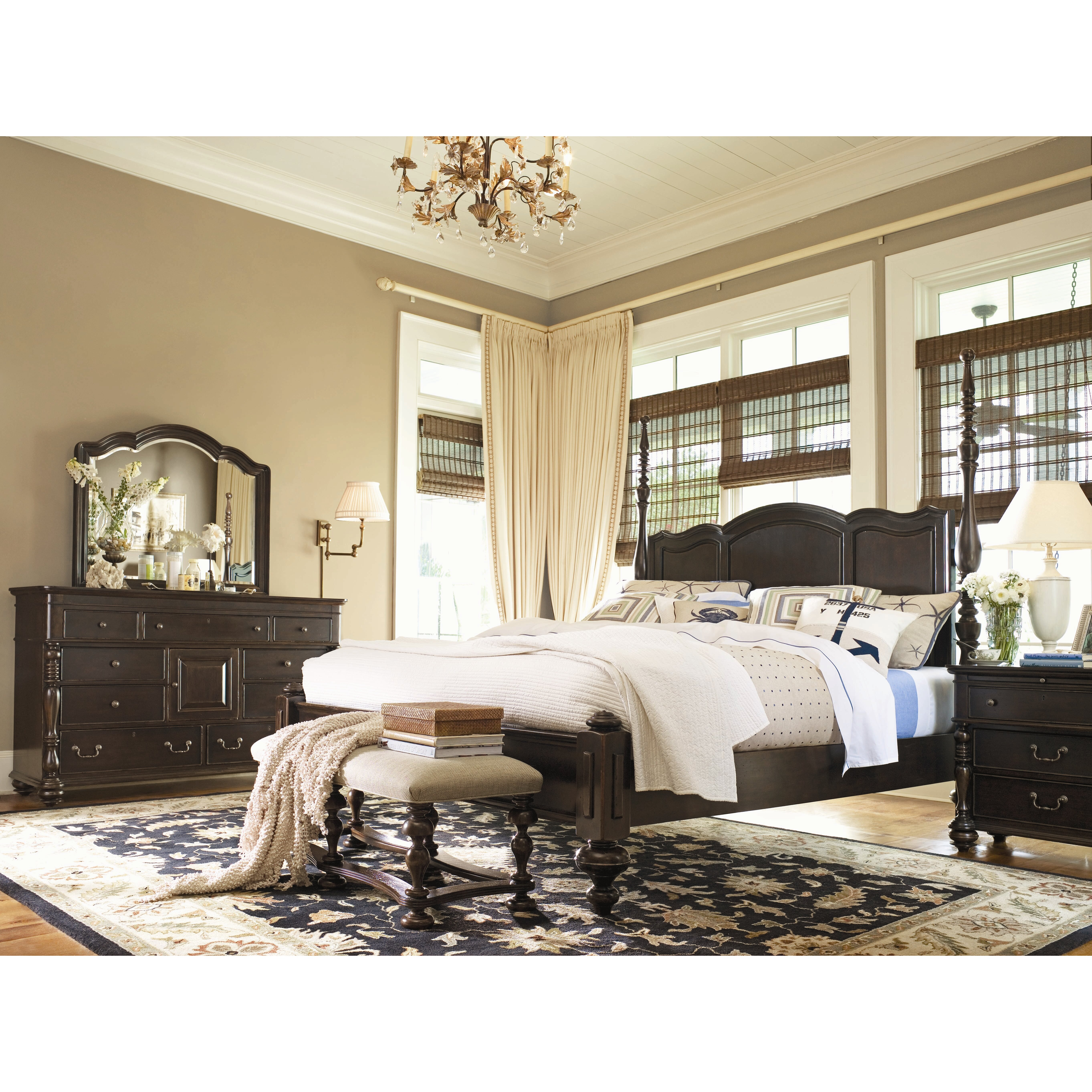 Paula deen home savannah panel customizable bedroom set - Paula deen bedroom furniture collection ...
