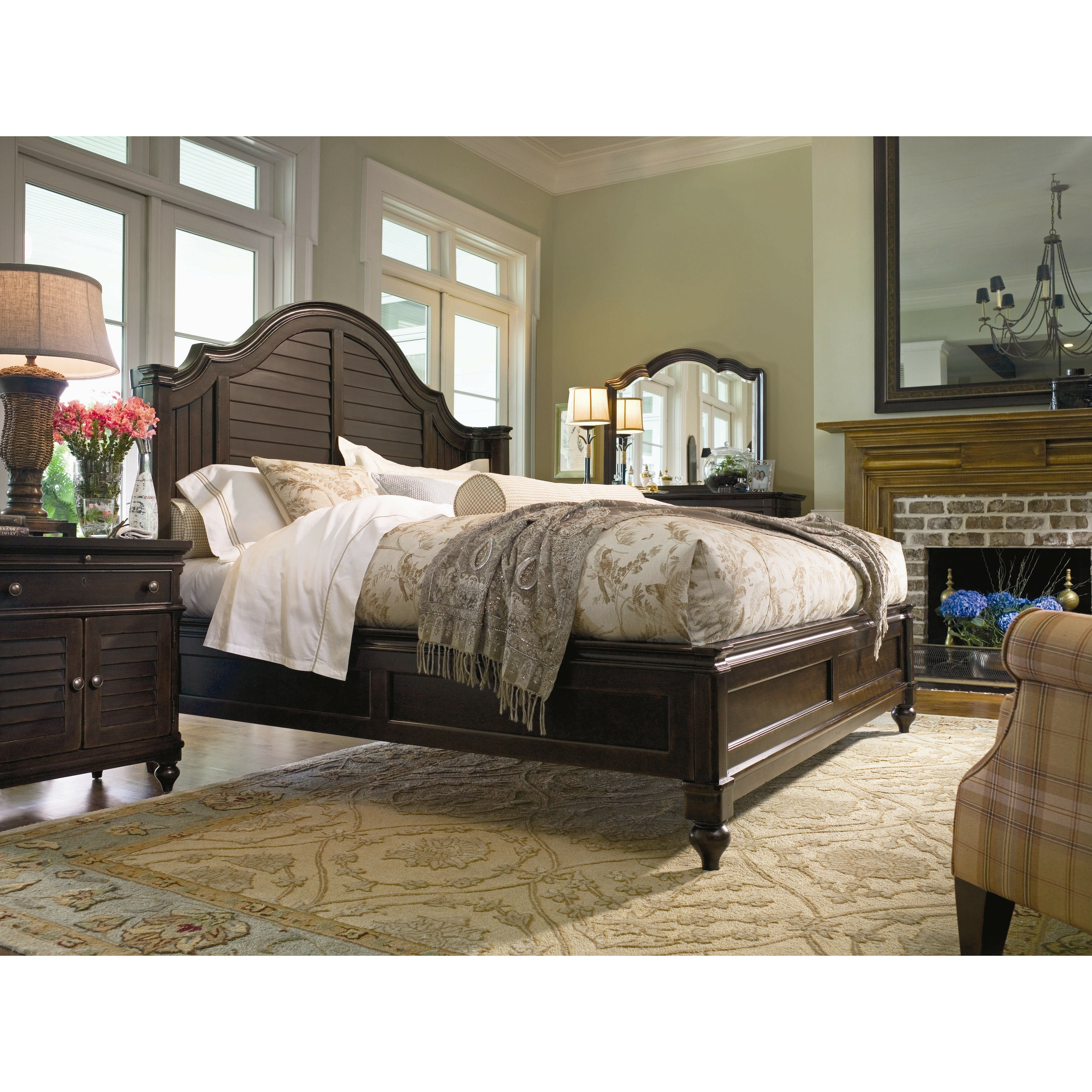 Paula Deen Bedroom Furniture Collection Steel Magnolia Paula Deen Home Steel Magnolia Panel Customizable Bedroom Set