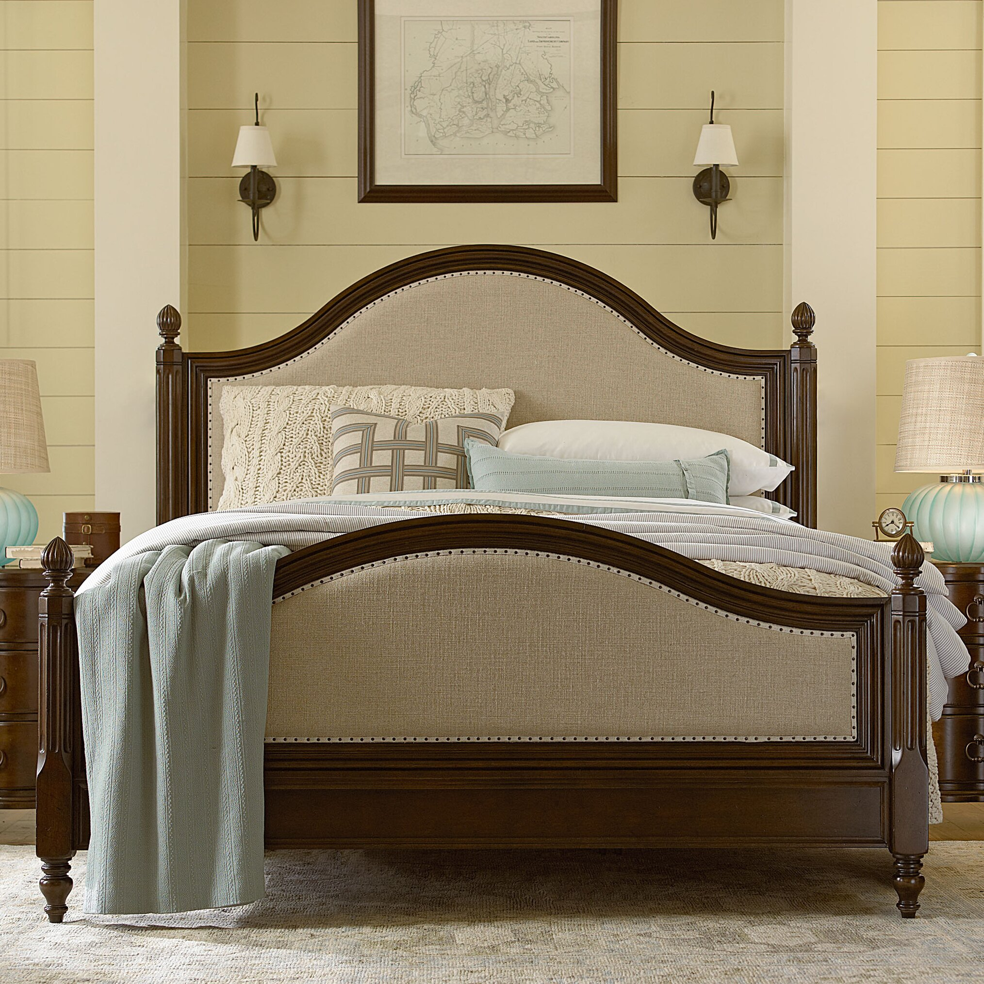 paula deen river house panel customizable bedroom set