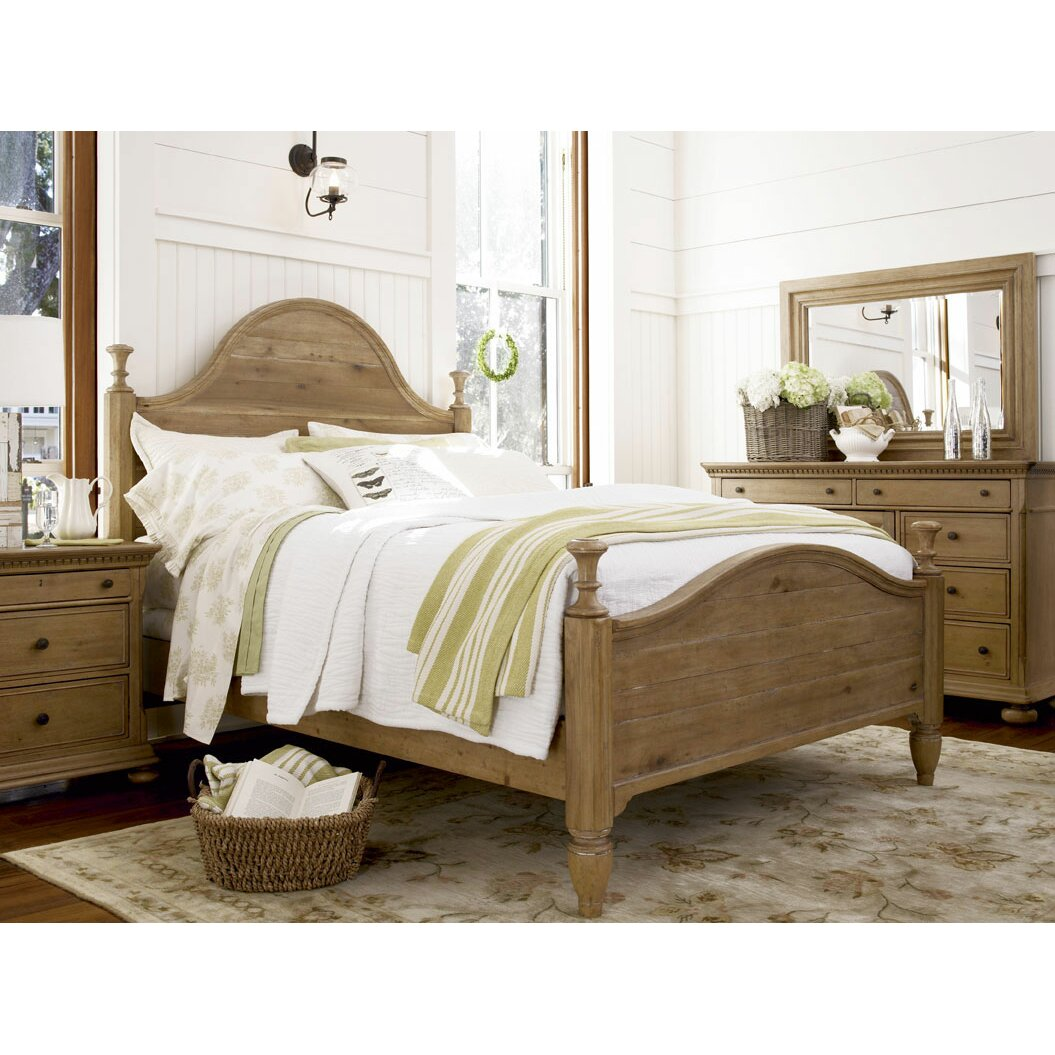 Paula deen home down home panel bed wayfair - Paula deen bedroom furniture collection ...