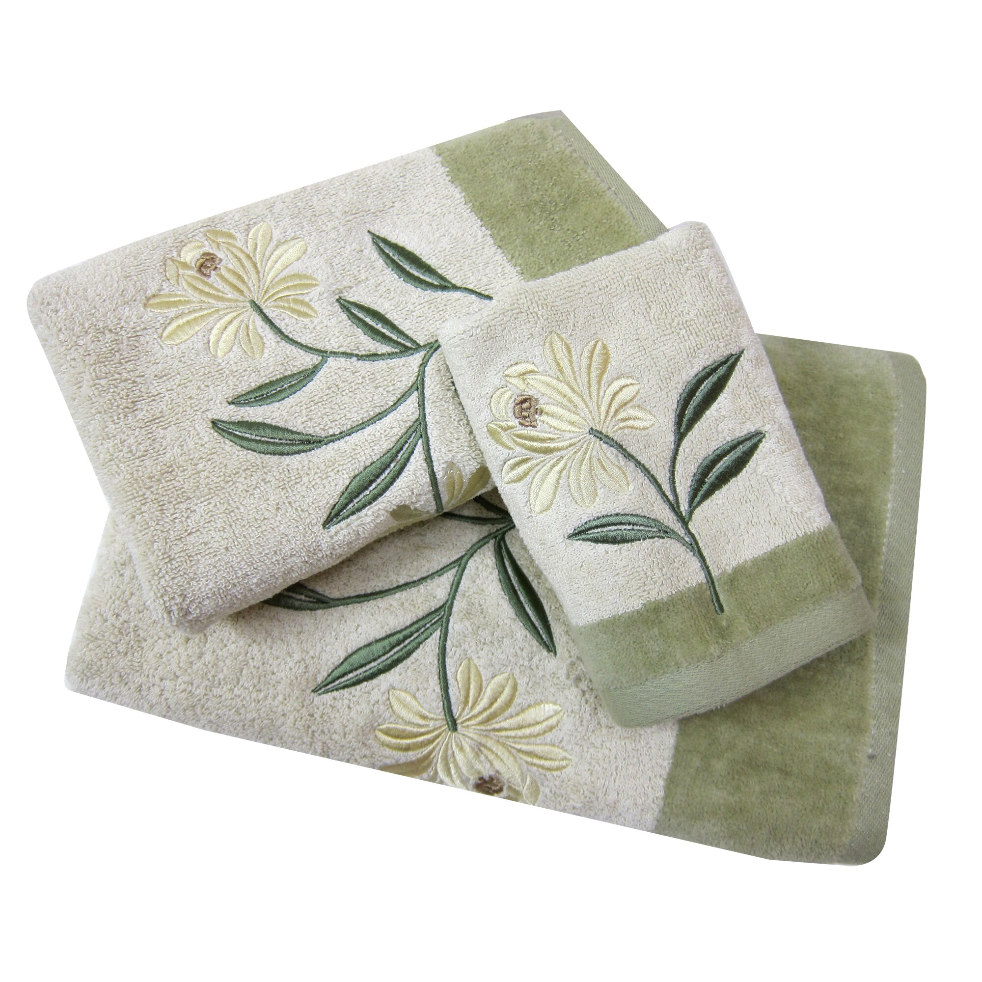 Croscill Hand Towels: Croscill Penelope 3 Piece Towel Set & Reviews